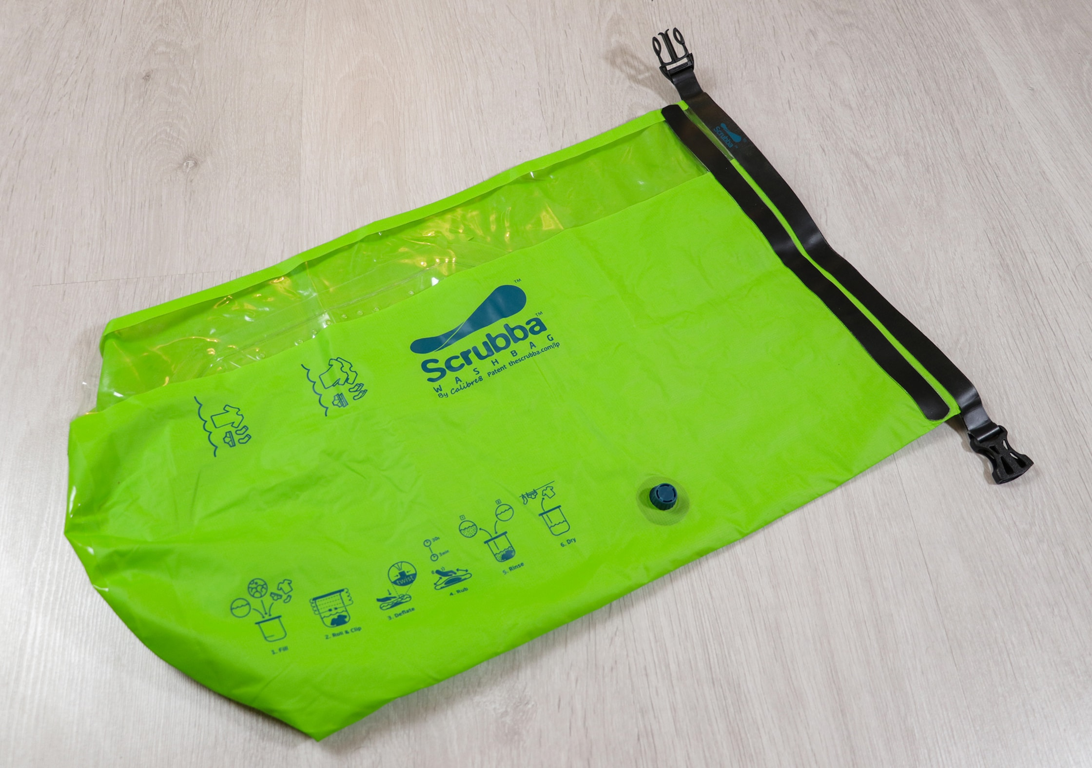 Green Scrubba Wash Bag