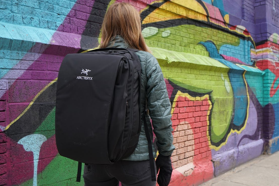 Arc'teryx Blade 28 Backpack In Use