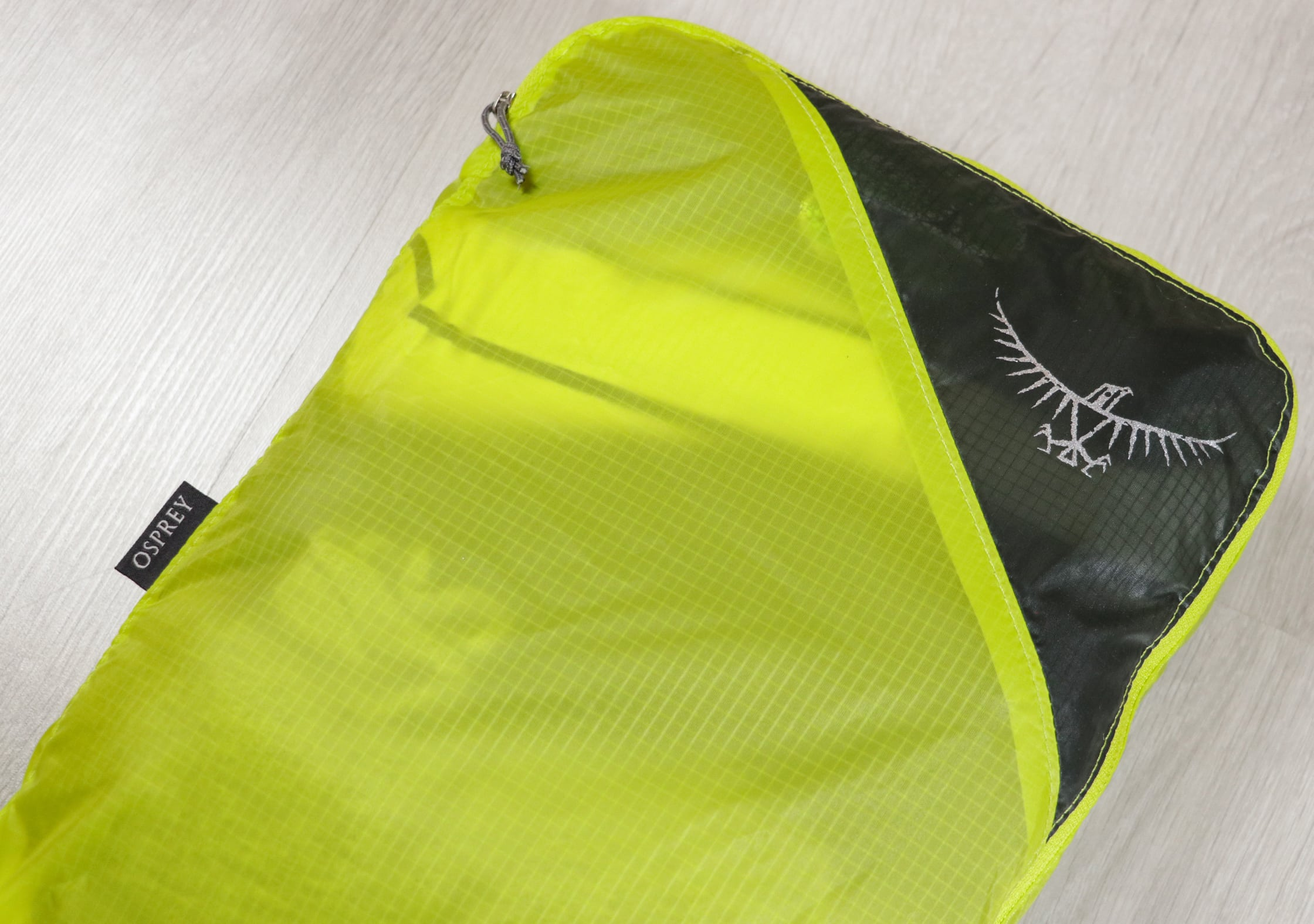 Branding On The Osprey Ultralight Packing Cube
