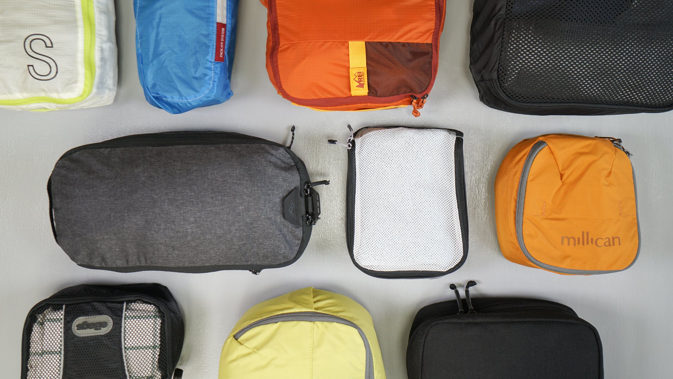 Various Packing Cubes