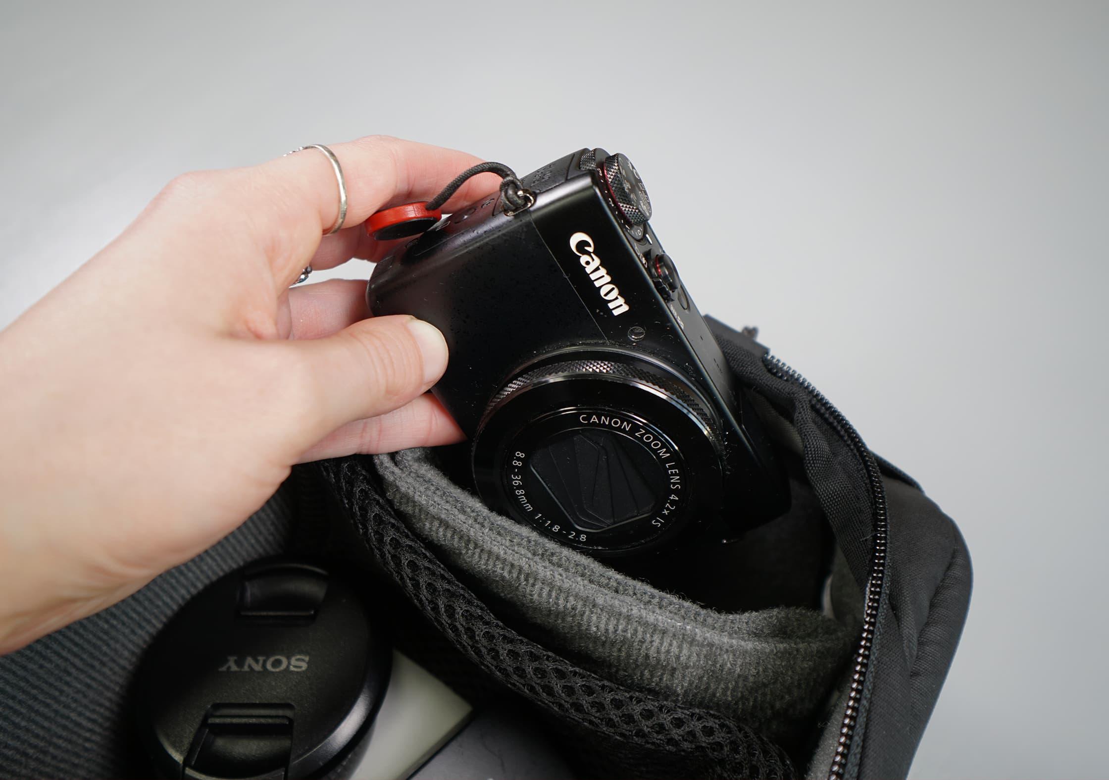 Peak Design Camera Cube In Use