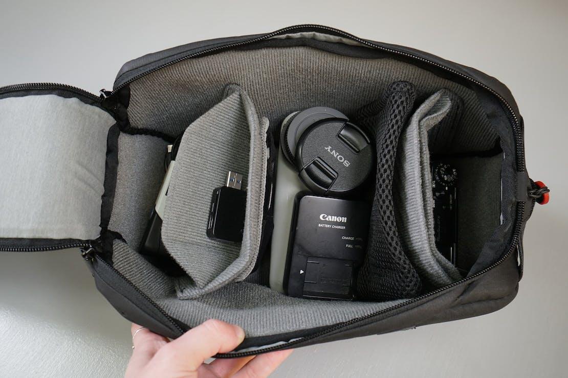 Peak Design Camera Cube Interior