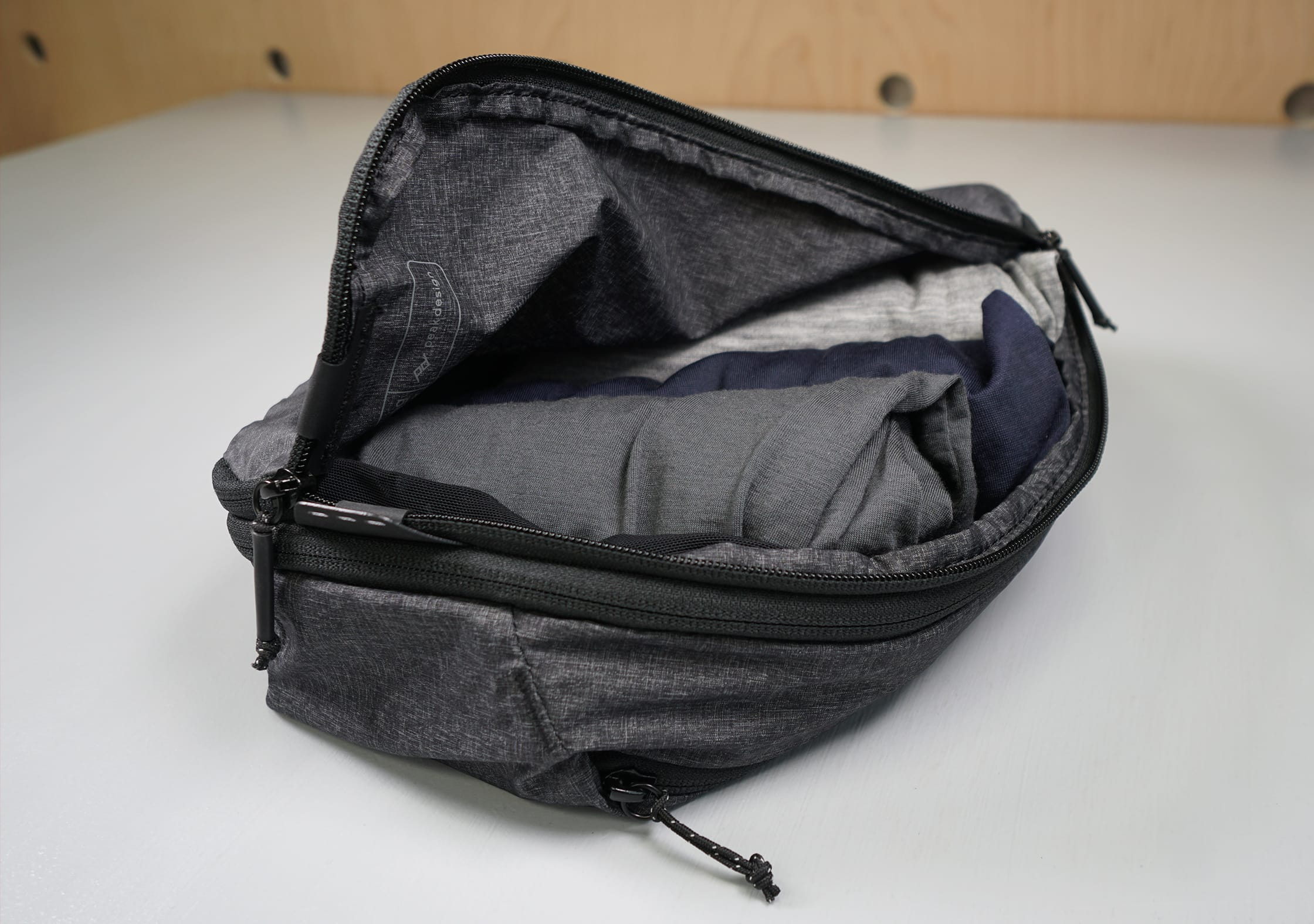 Peak Design Packing Cubes Quick Accessibility