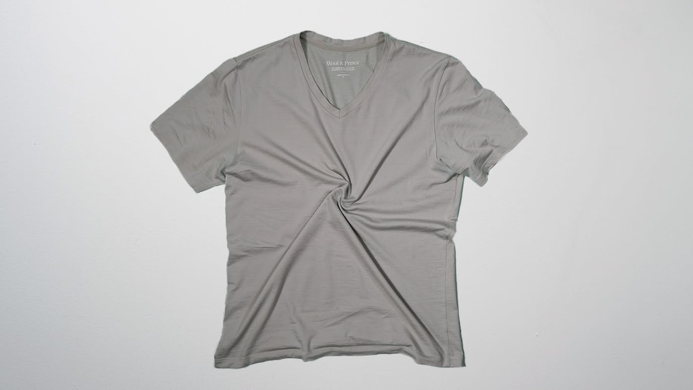 Wool & Prince V-Neck Tee Review