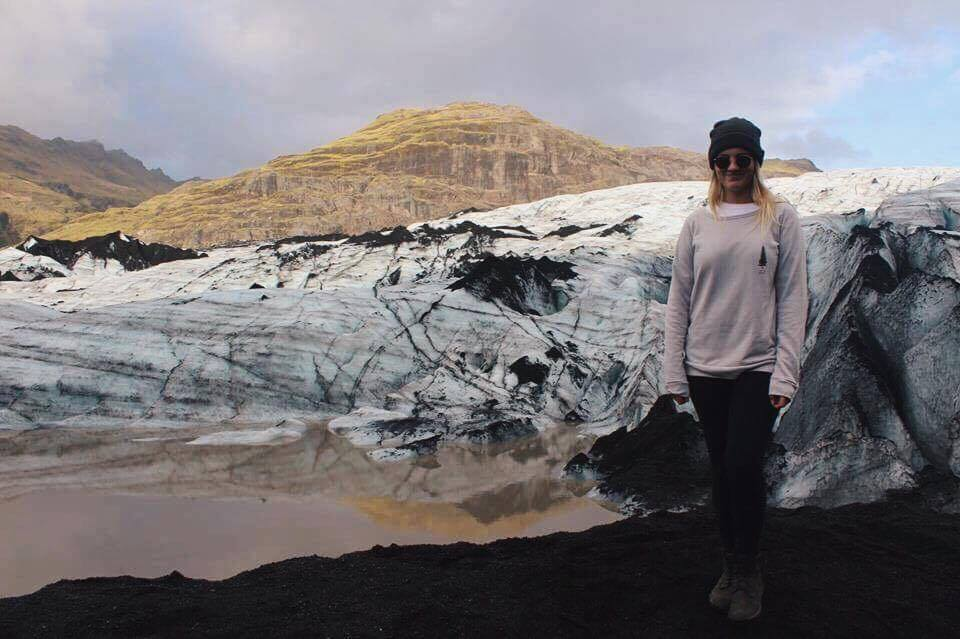 Abby McNeill in Iceland