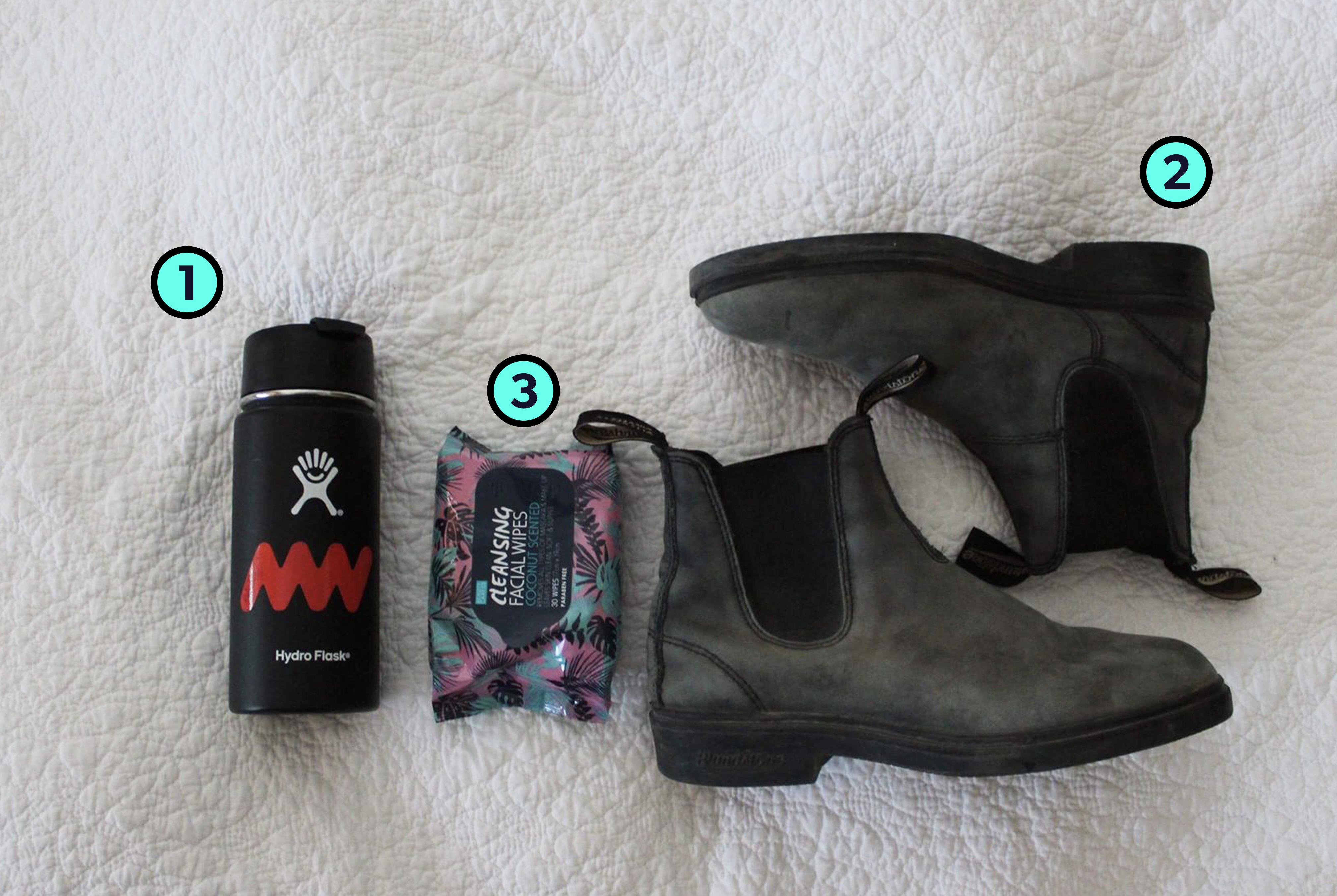 Abby McNeill's Trusty Travel Items