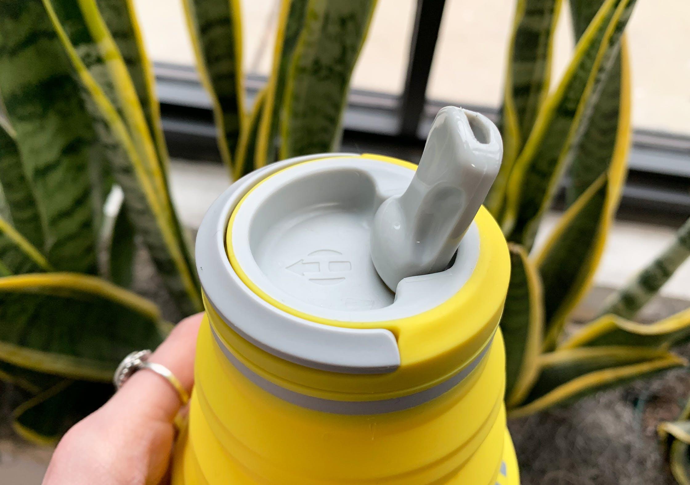 Hydaway 18oz Collapsible Water Bottle Spout Lid