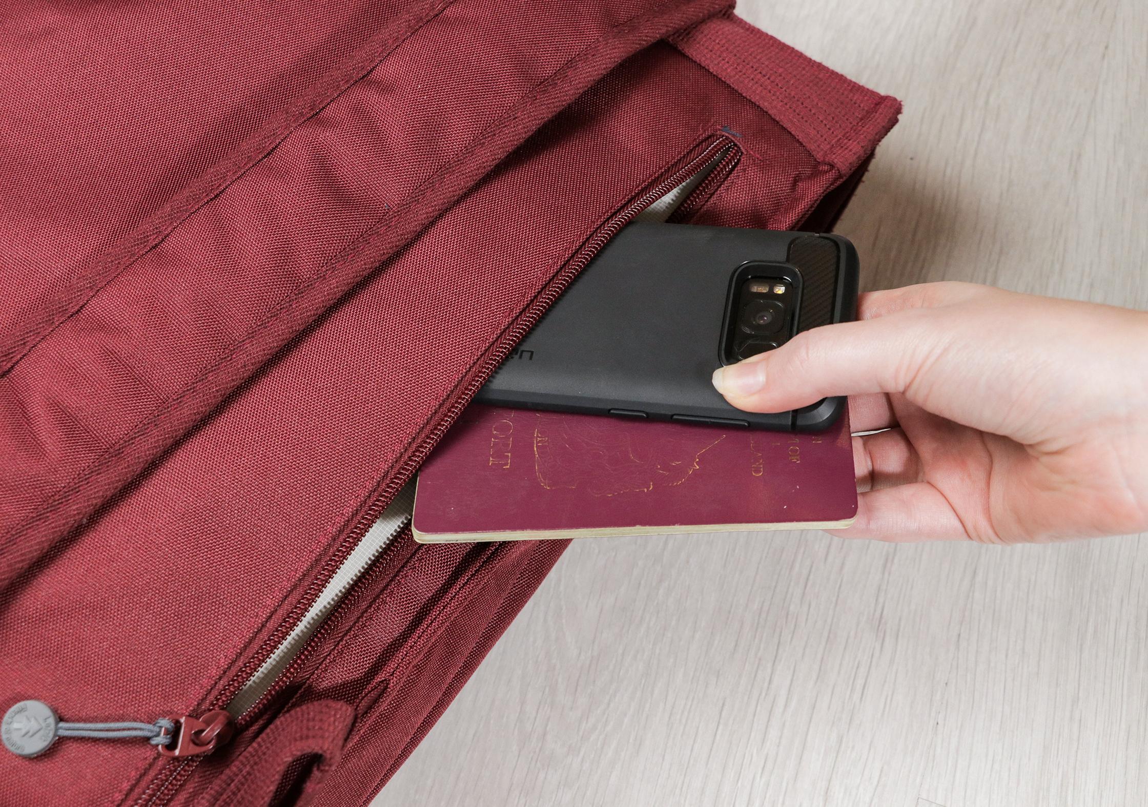 Lefrik Handy Backpack Zippered Back Pocket