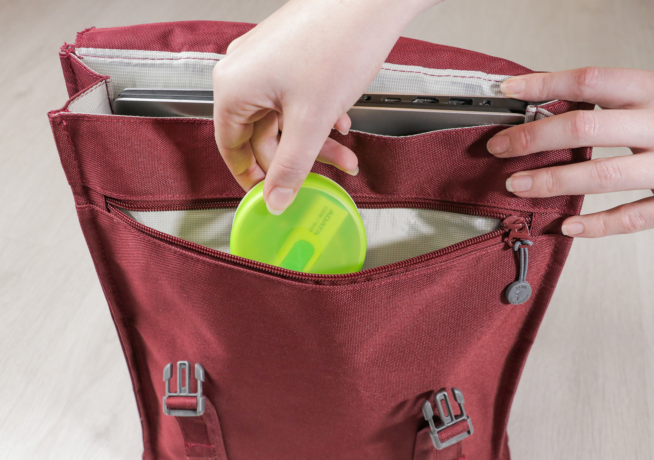 Lefrik Handy Backpack Zippered Front Pocket