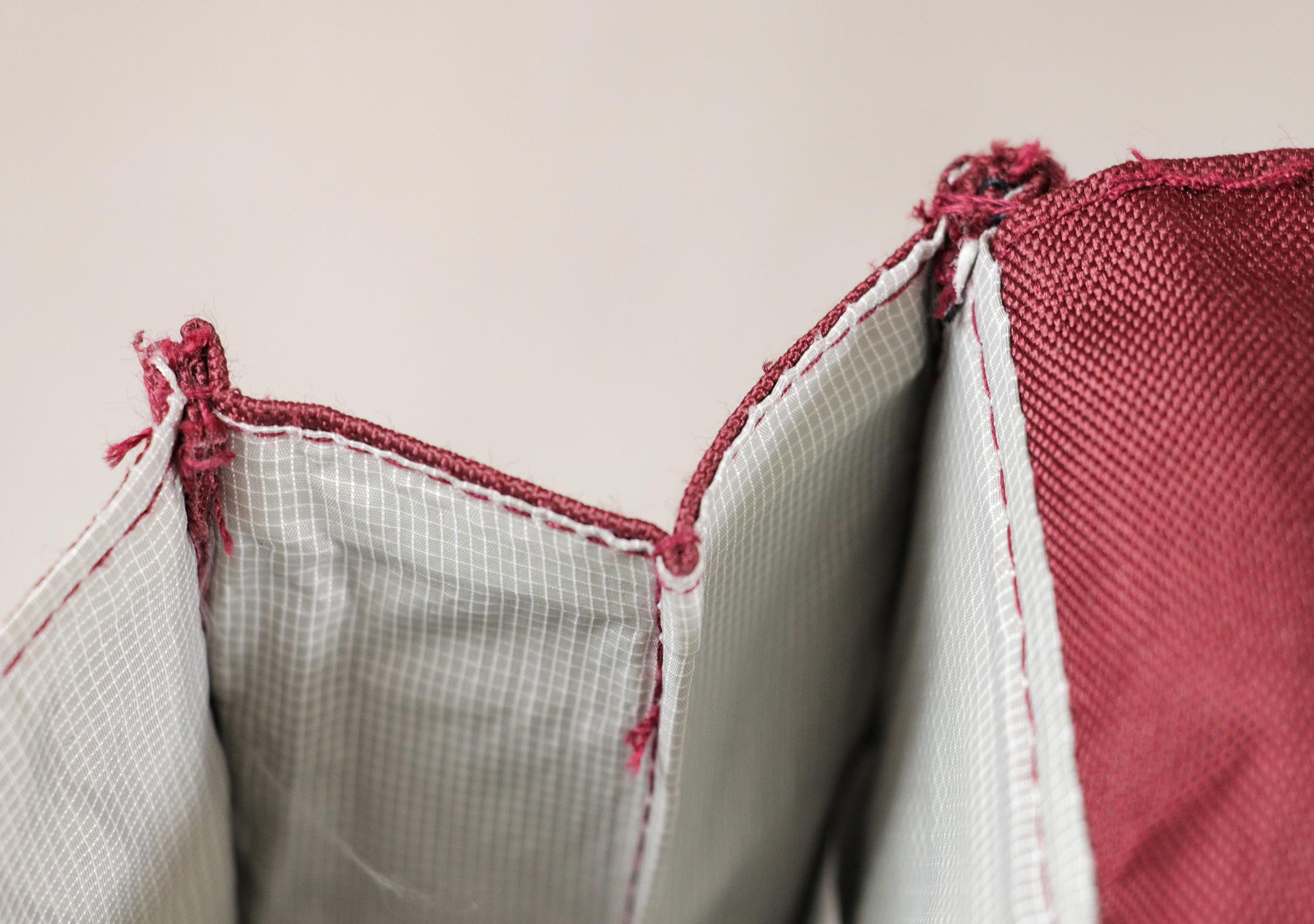Lefrik Handy Backpack Stitching