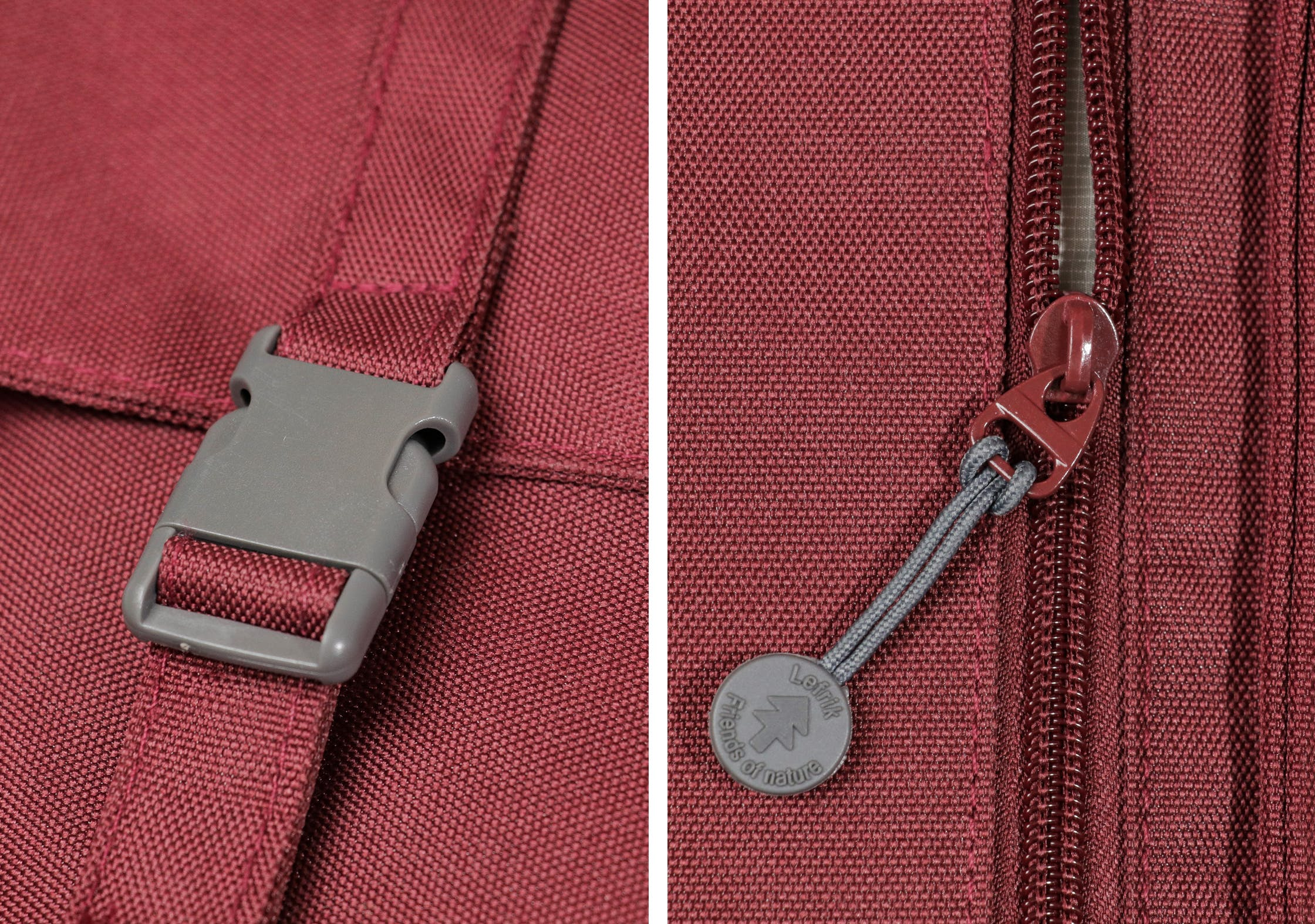 Lefrik Handy Backpack Zippers & Buckles