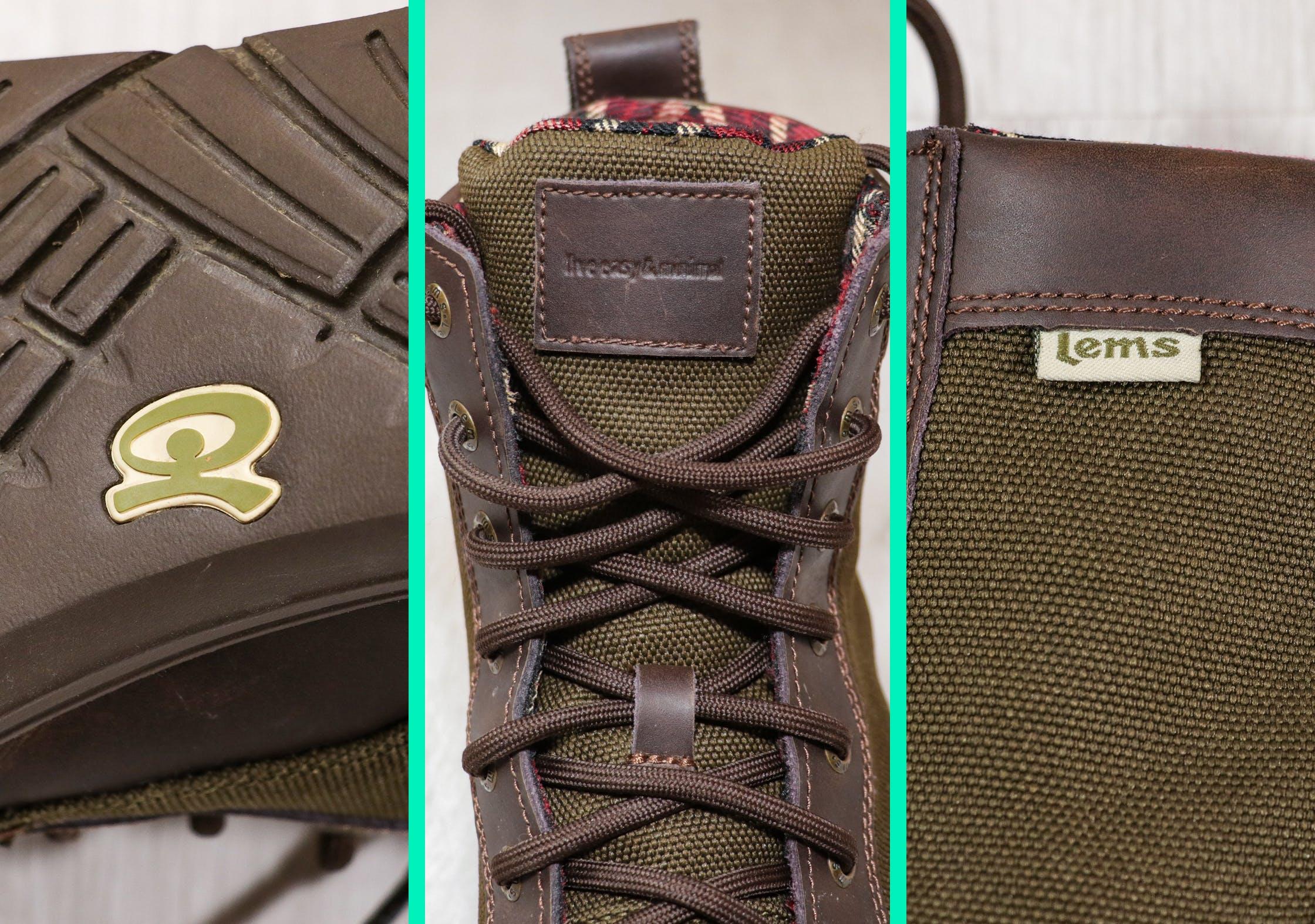 Lems Boulder Boot Branding