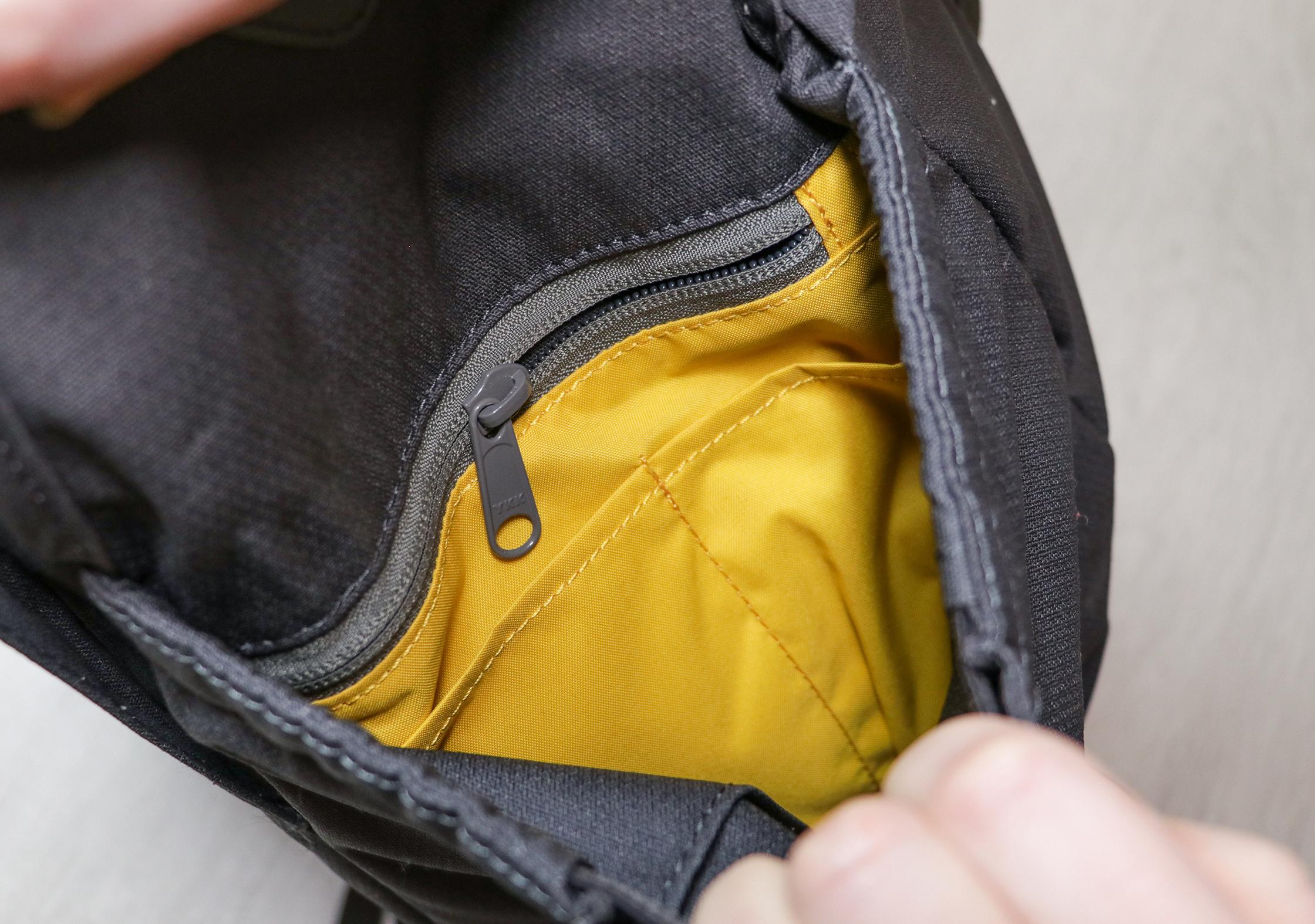 Millican Fraser Rucksack 32L Front Left Pocket Organization