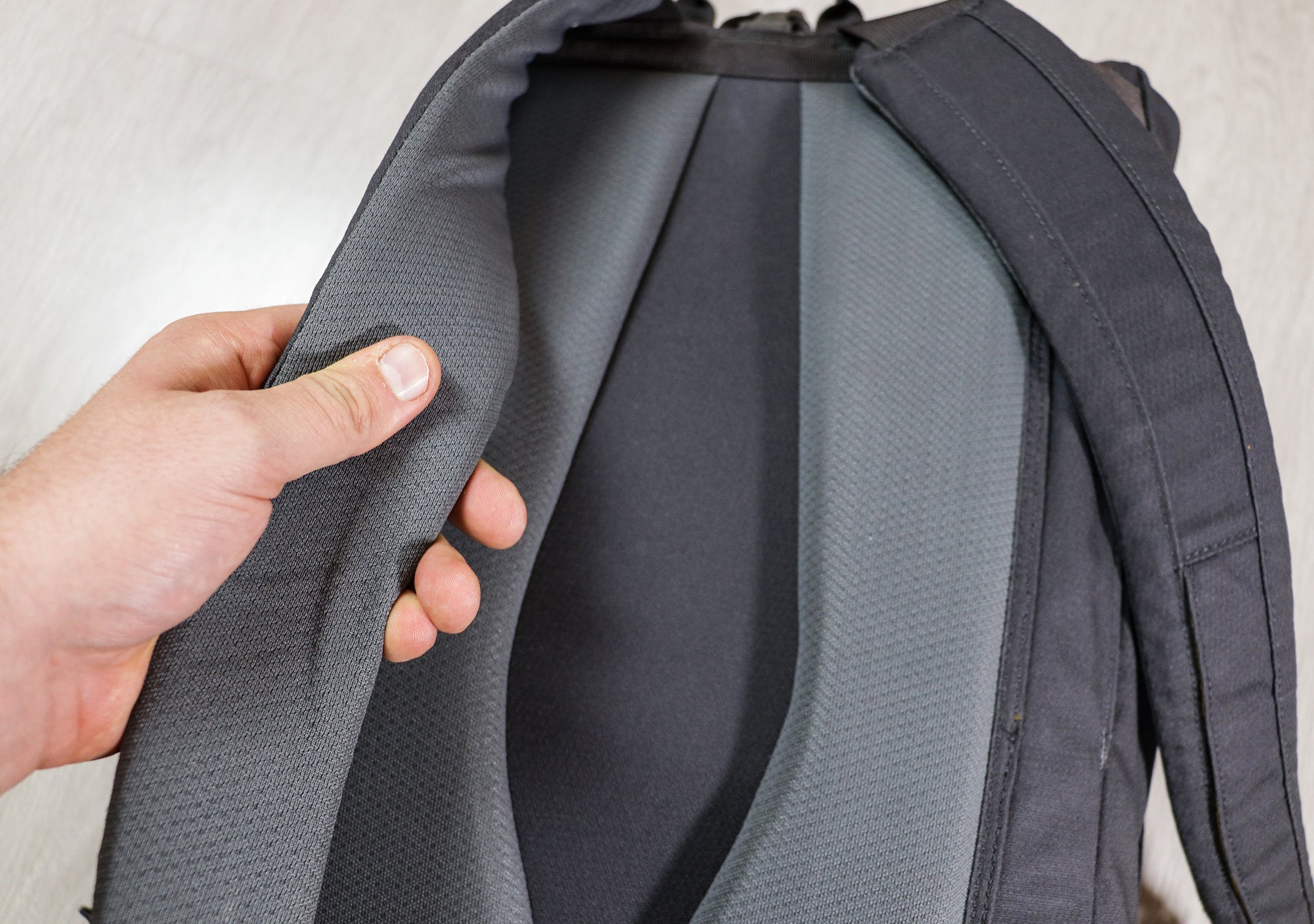 Millican Fraser Rucksack 32L Shoulder Straps & Back Panel Padding