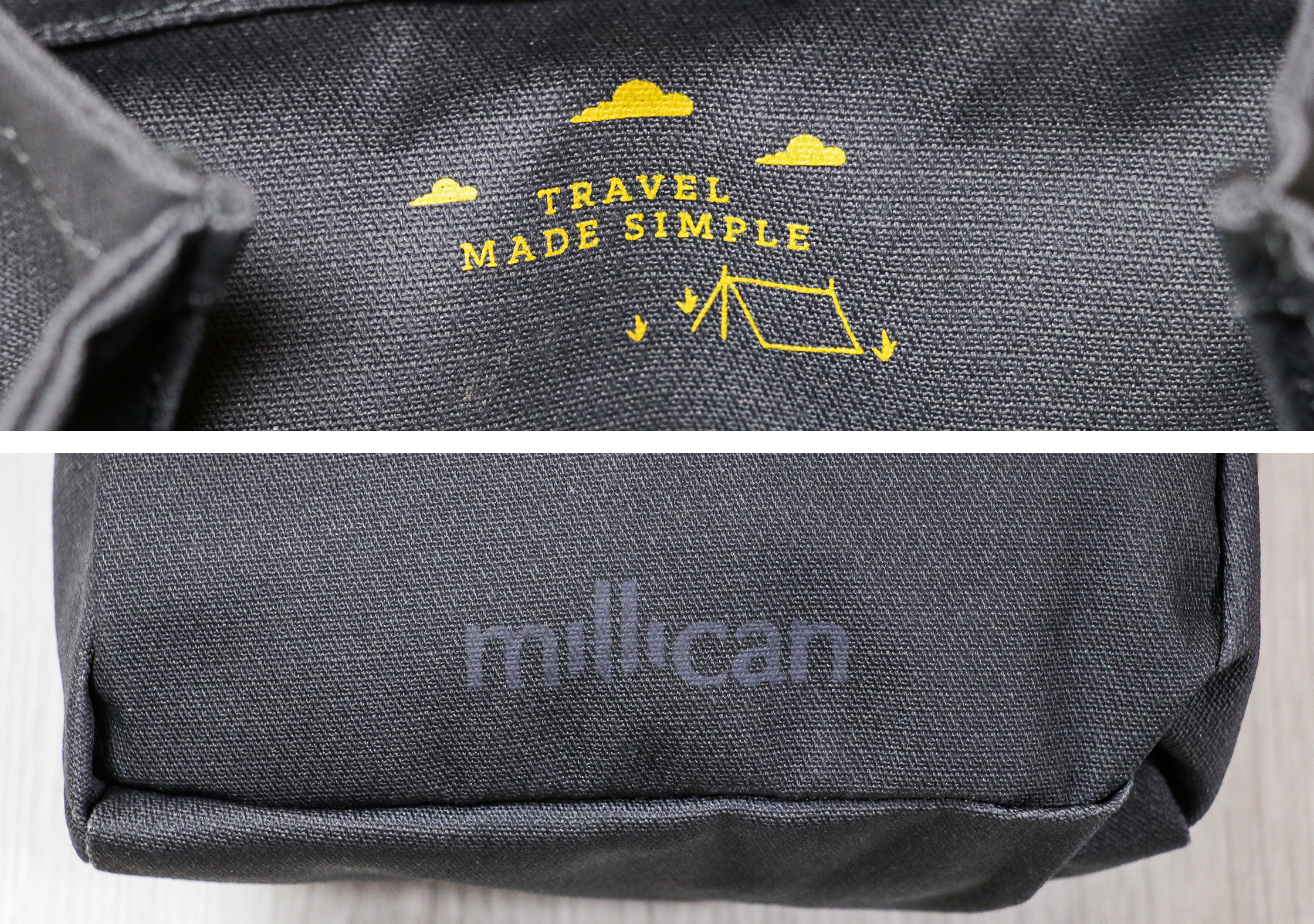 Millican Smith Utility Pouch Branding
