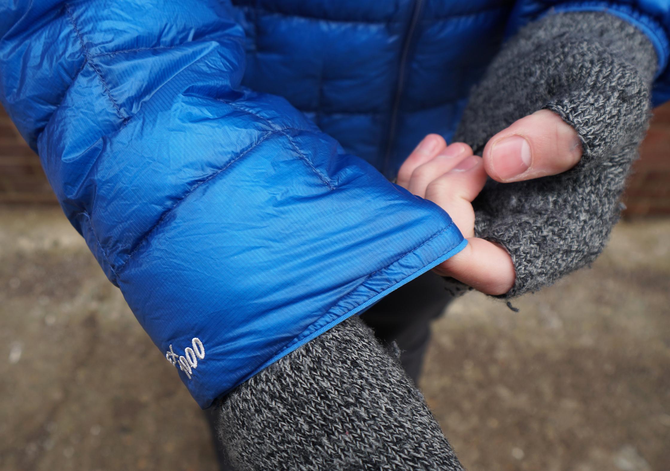 Montbell Plasma 1000 Down Jacket Elastic Cuff