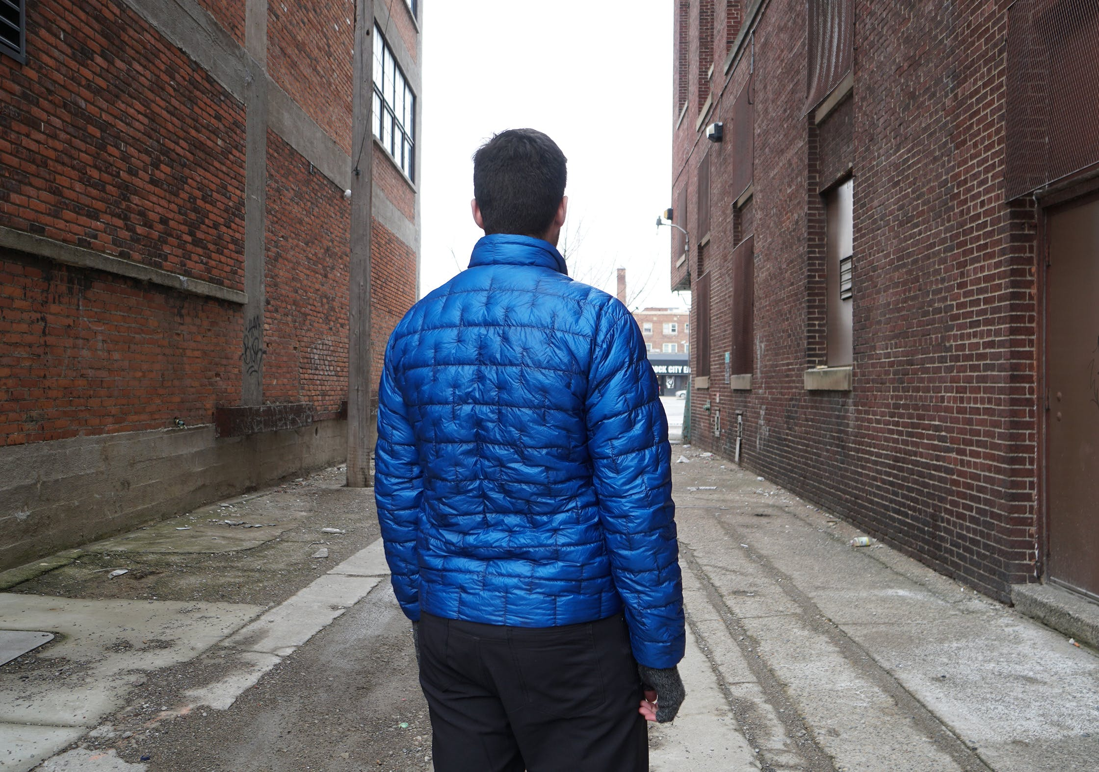 Montbell Plasma 1000 Down Jacket In Use