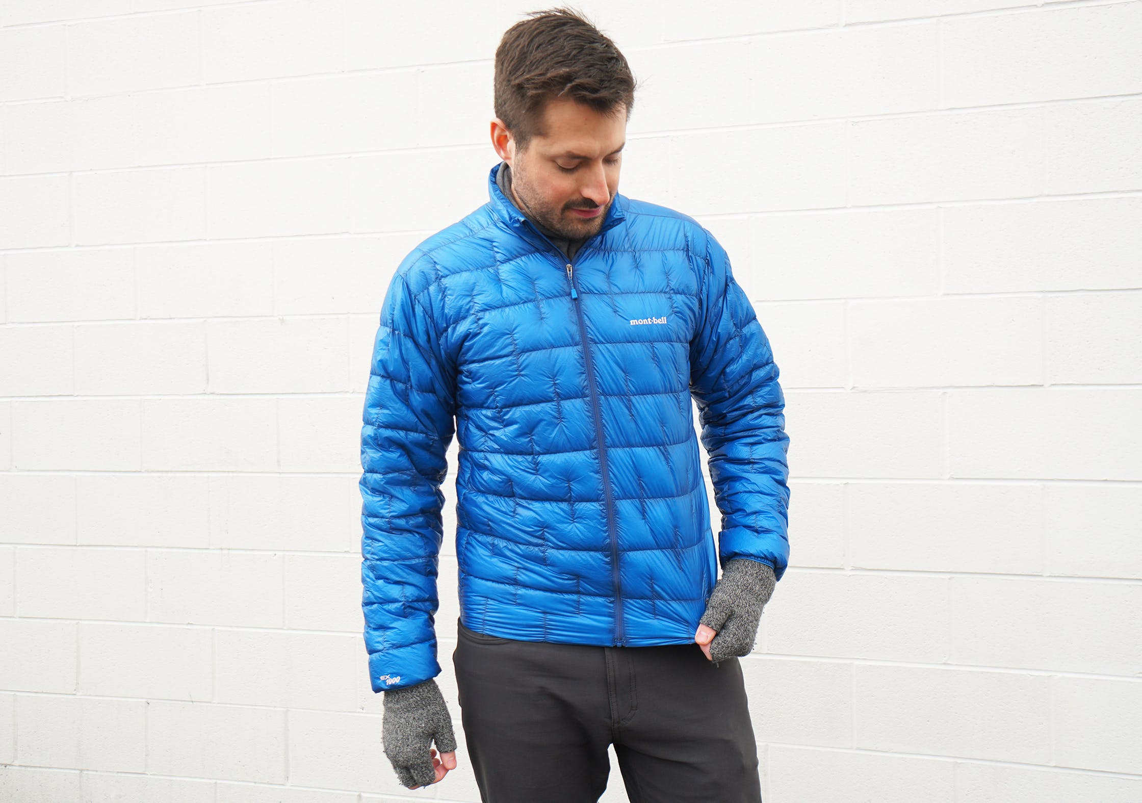 Montbell Plasma 1000 Down Jacket Materials