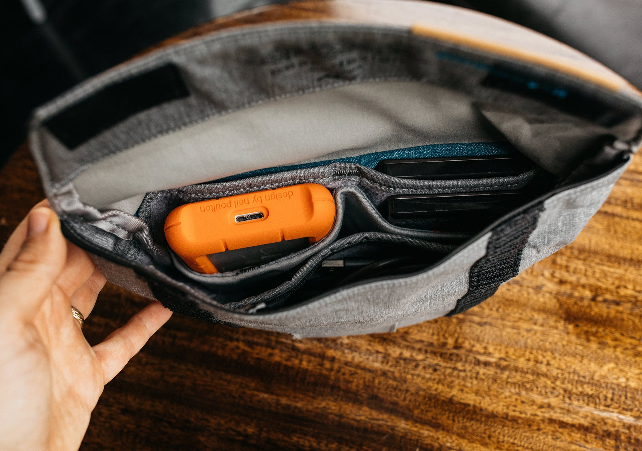 Peak Design Field Pouch Interior