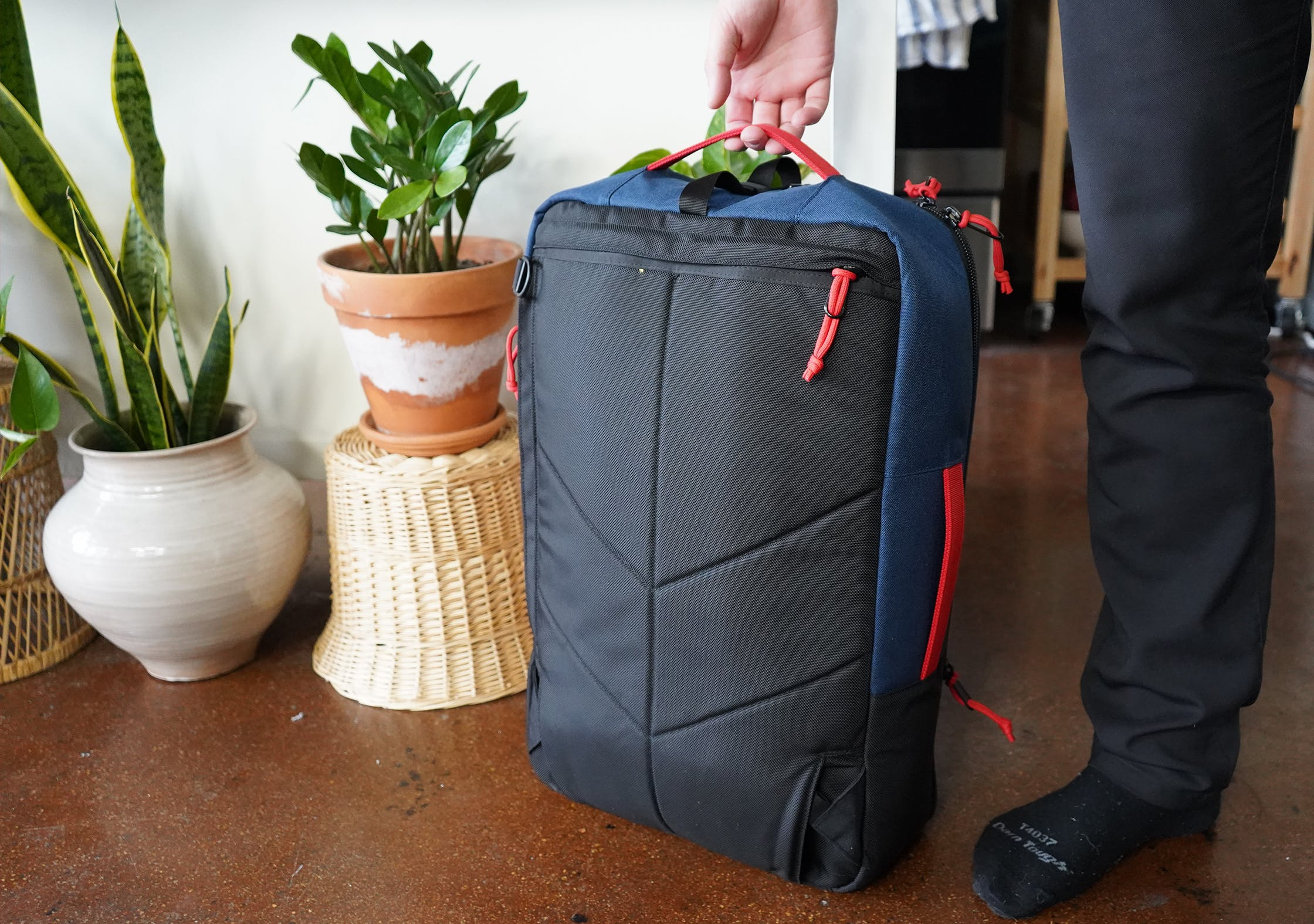 Topo Designs Travel Bag 40L Hidden Harness System