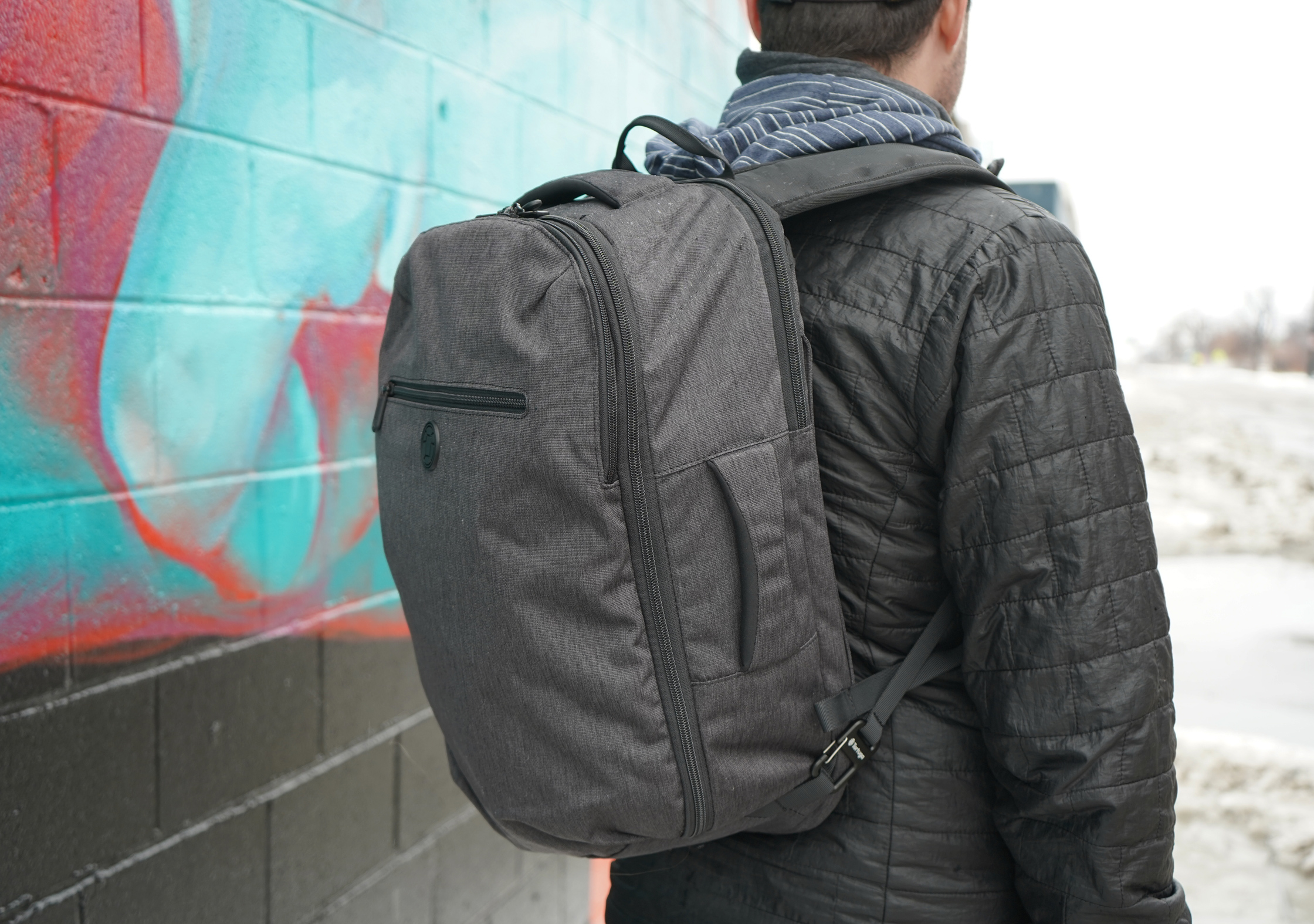 Tortuga Setout Laptop Backpack In Use