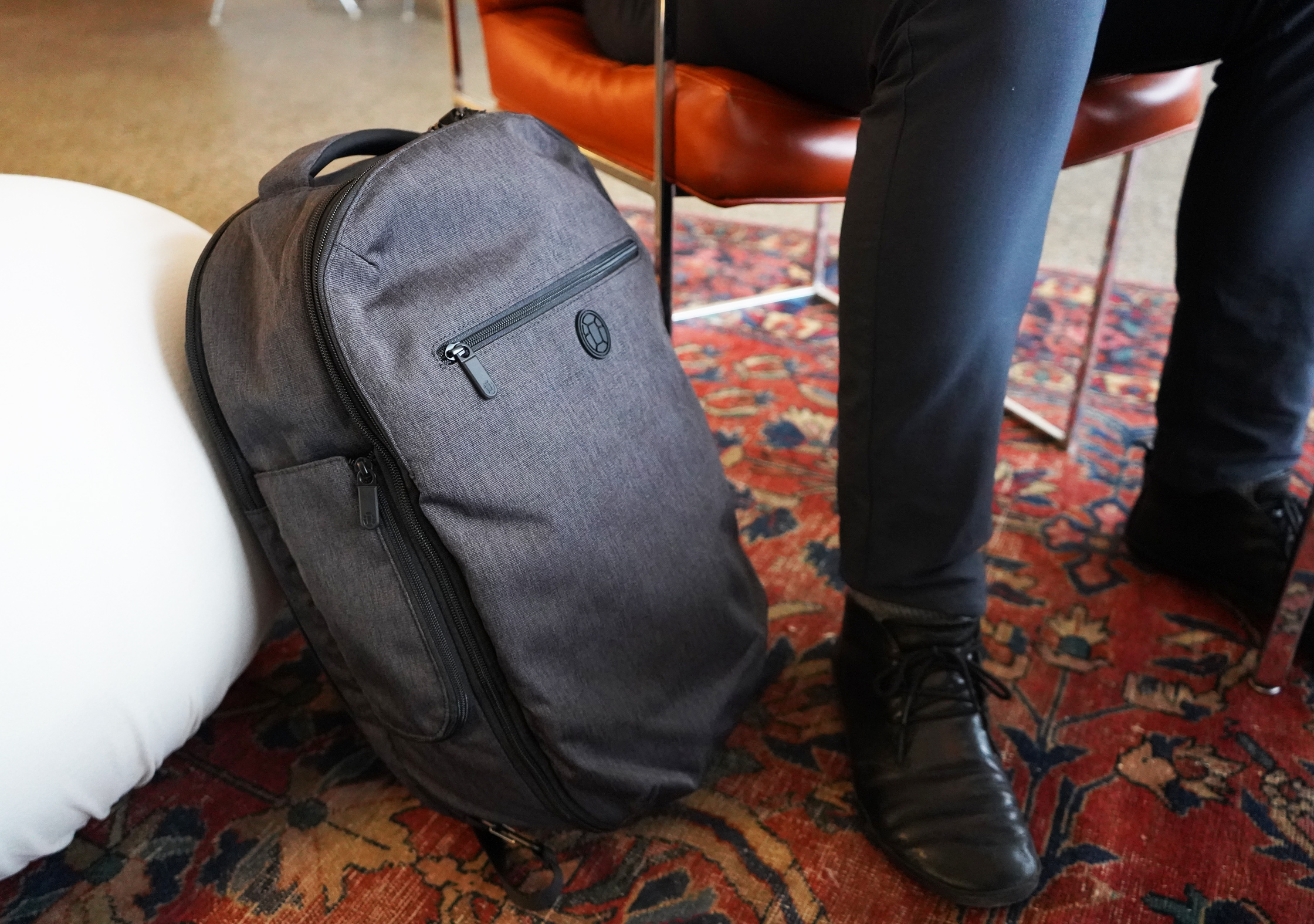 Tortuga Setout Laptop Backpack At Coffee Shop