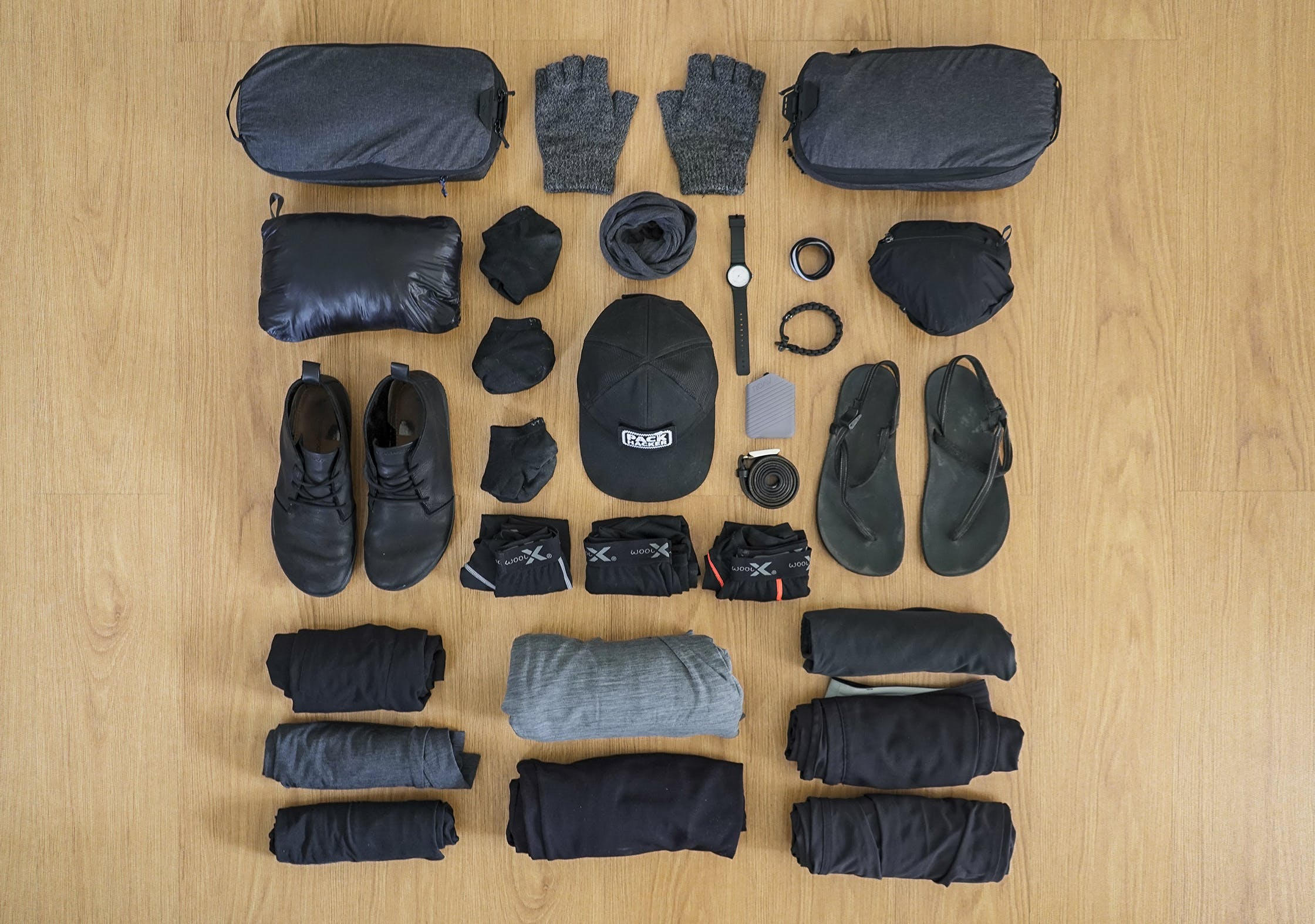 Digital Nomad Packing List | Clothing & Accessories