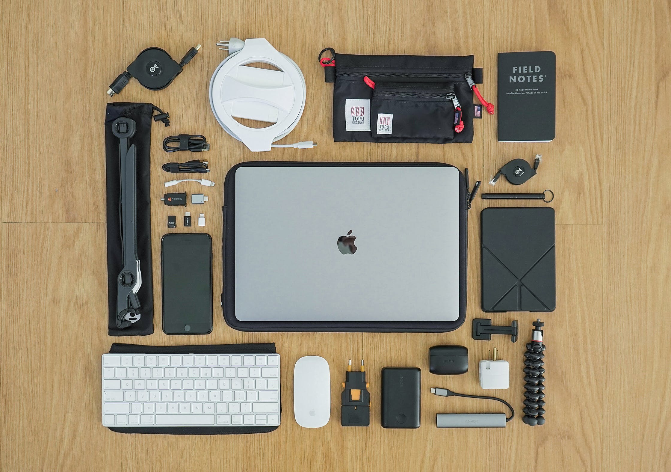 Digital Nomad Packing List | Productivity & Tech