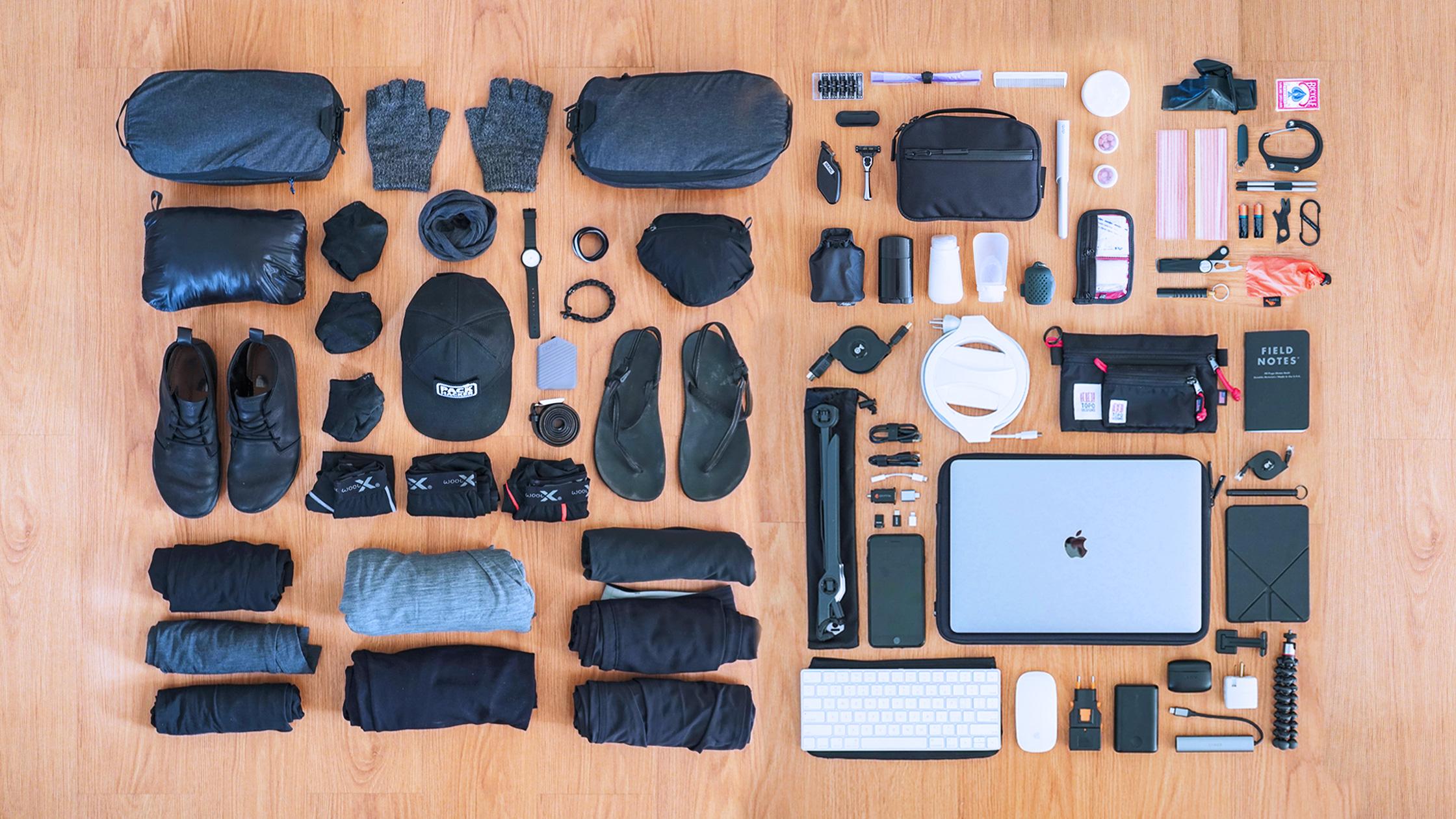 guión cortar Novia  81 Items: The Ultimate Digital Nomad Packing List | Pack Hacker