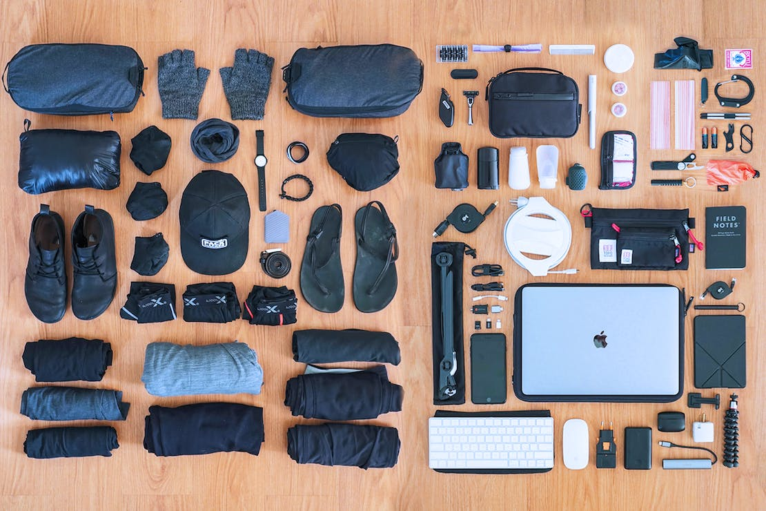 943425244e 81 Items: The Ultimate Digital Nomad Packing List   Pack Hacker