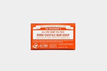 Dr. Bronner's Tea Tree Pure Castile Bar Soap