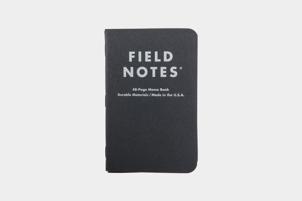 Field Notes Pitch Black Memo Book