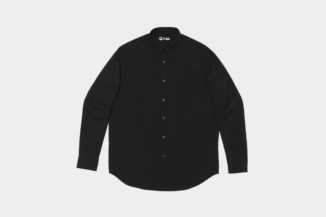 Outlier Albini Merino Broadcloth Button Up