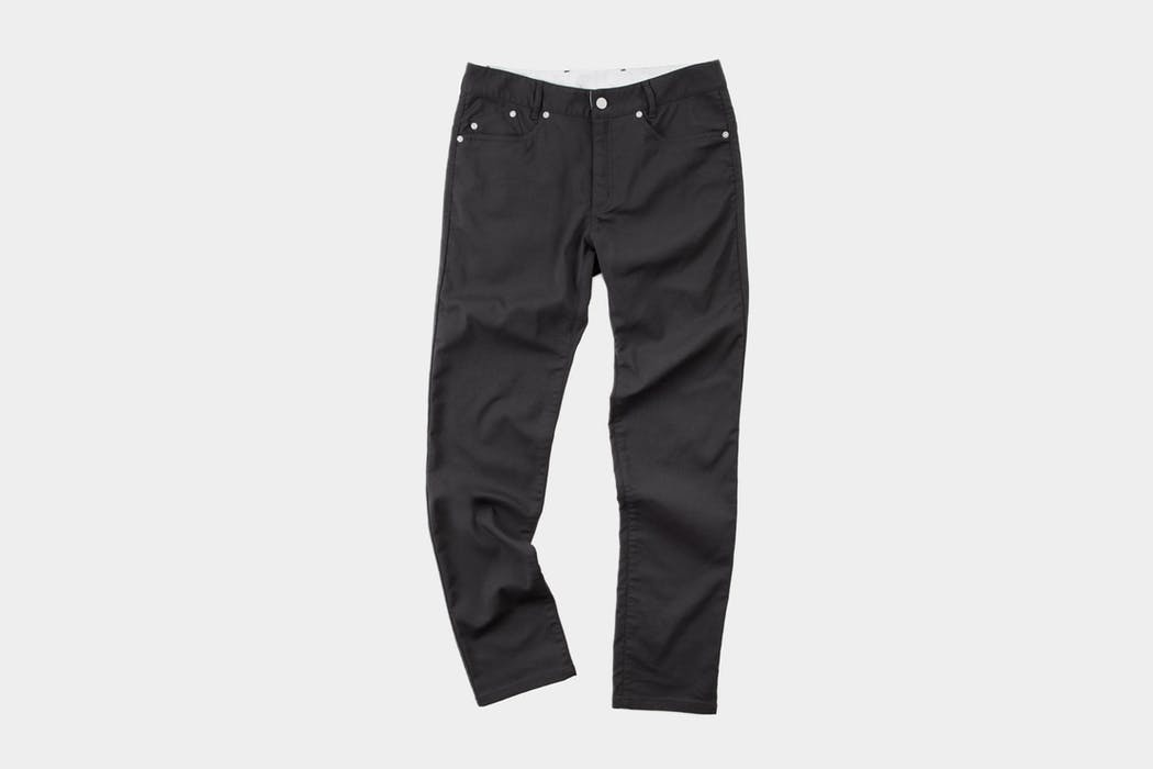 Outlier Slim Dungarees Black