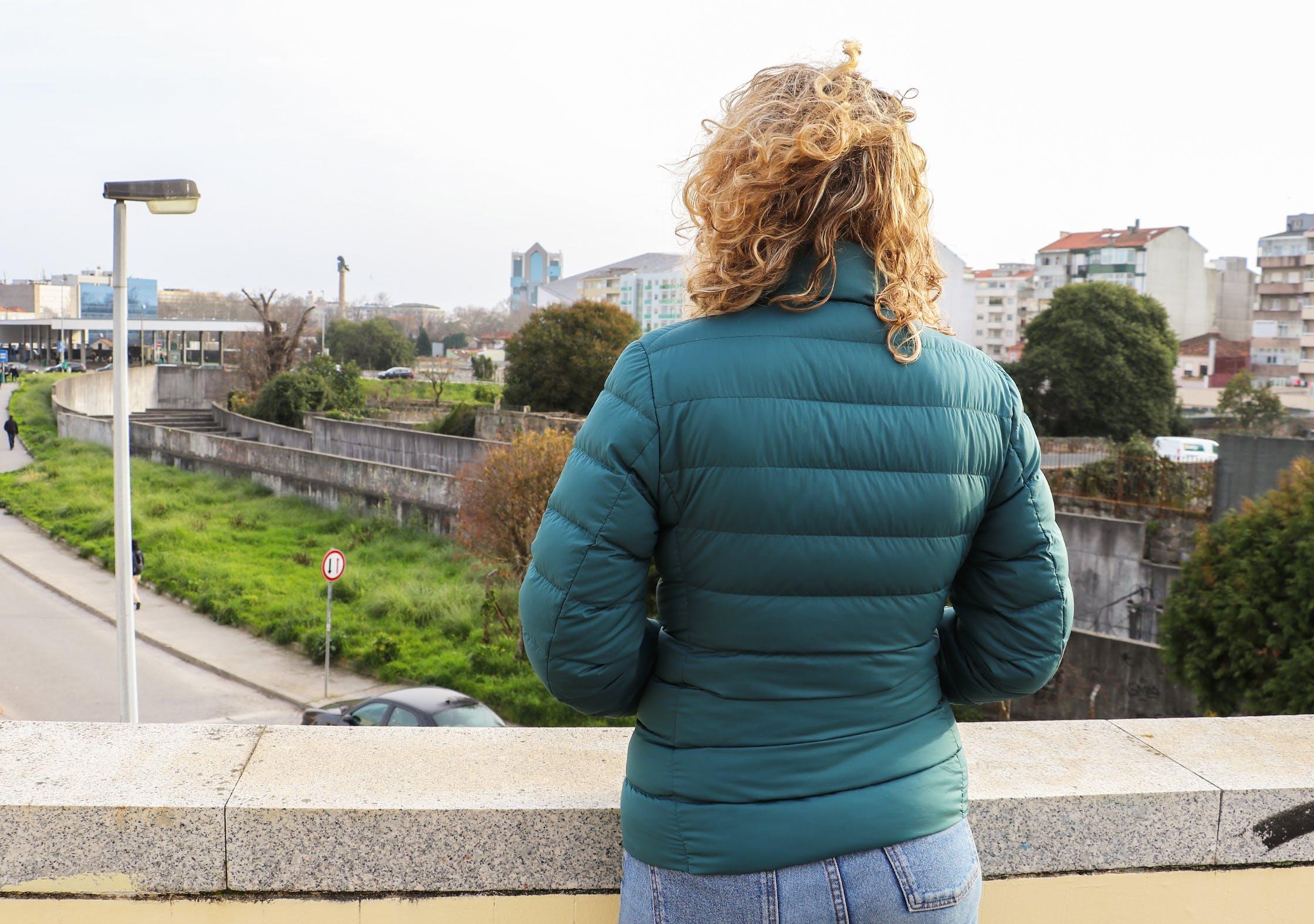 Uniqlo Ultra Light Down Jacket In Porto, Portugal