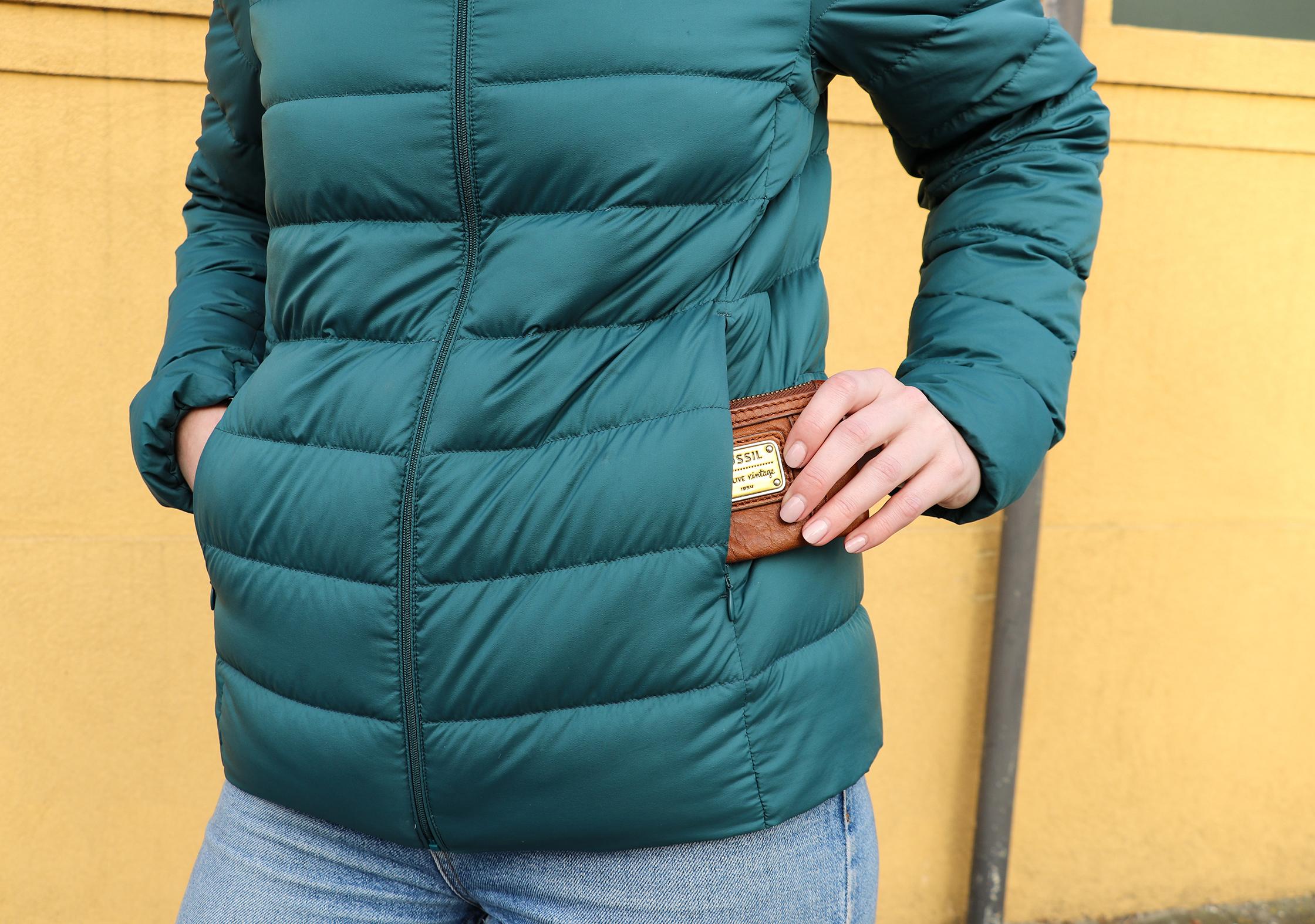 Uniqlo Ultra Light Down Jacket Pockets