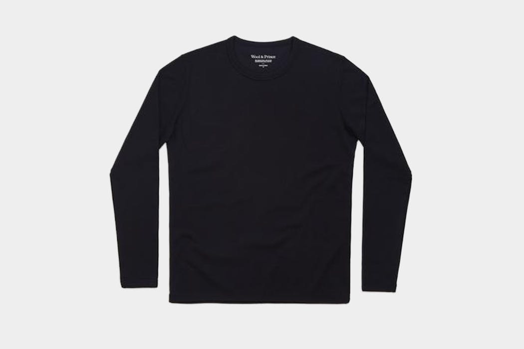 Wool & Prince Heavy Crew Neck Long Sleeve