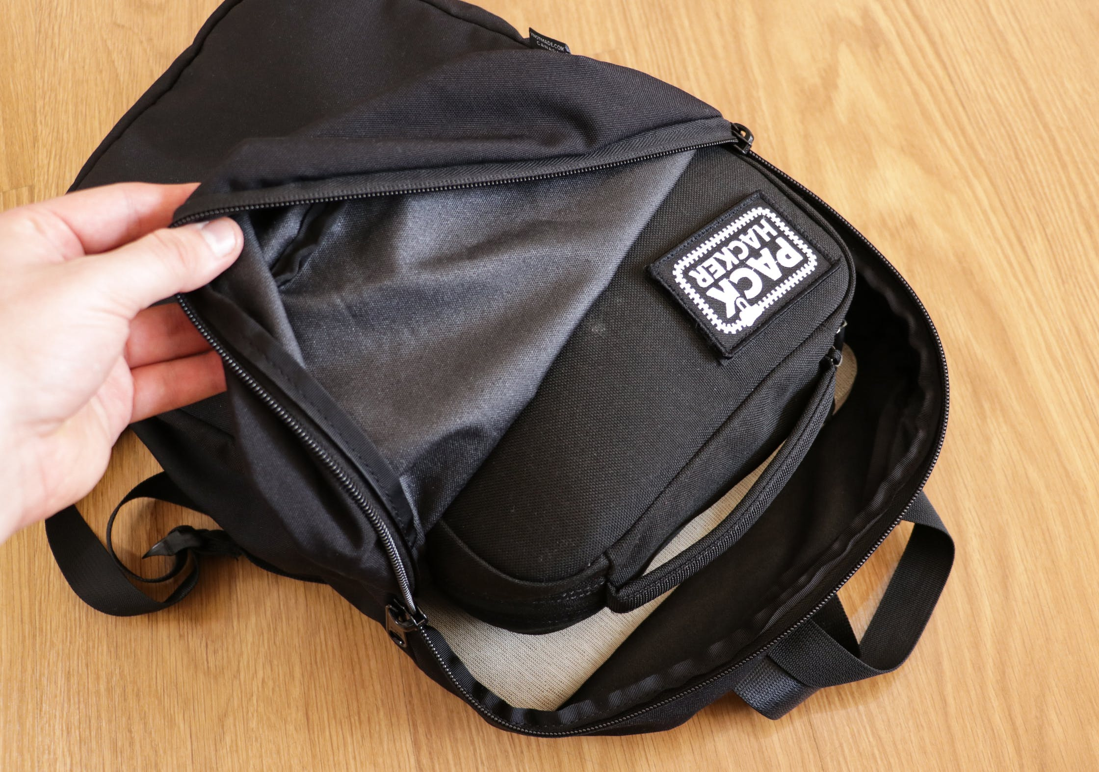 YNOT Deploy With A Padded GORUCK GR2 Field Pocket Inside