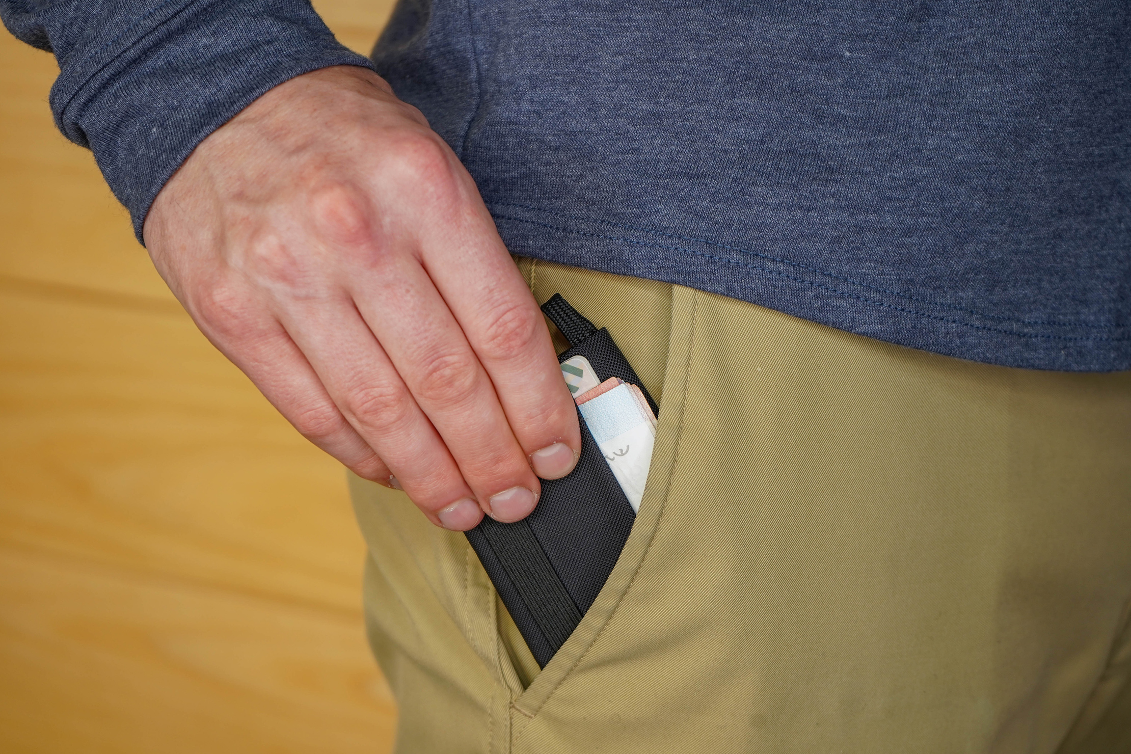 Tom Bihn Nik's Minimalist Wallet In Pocket