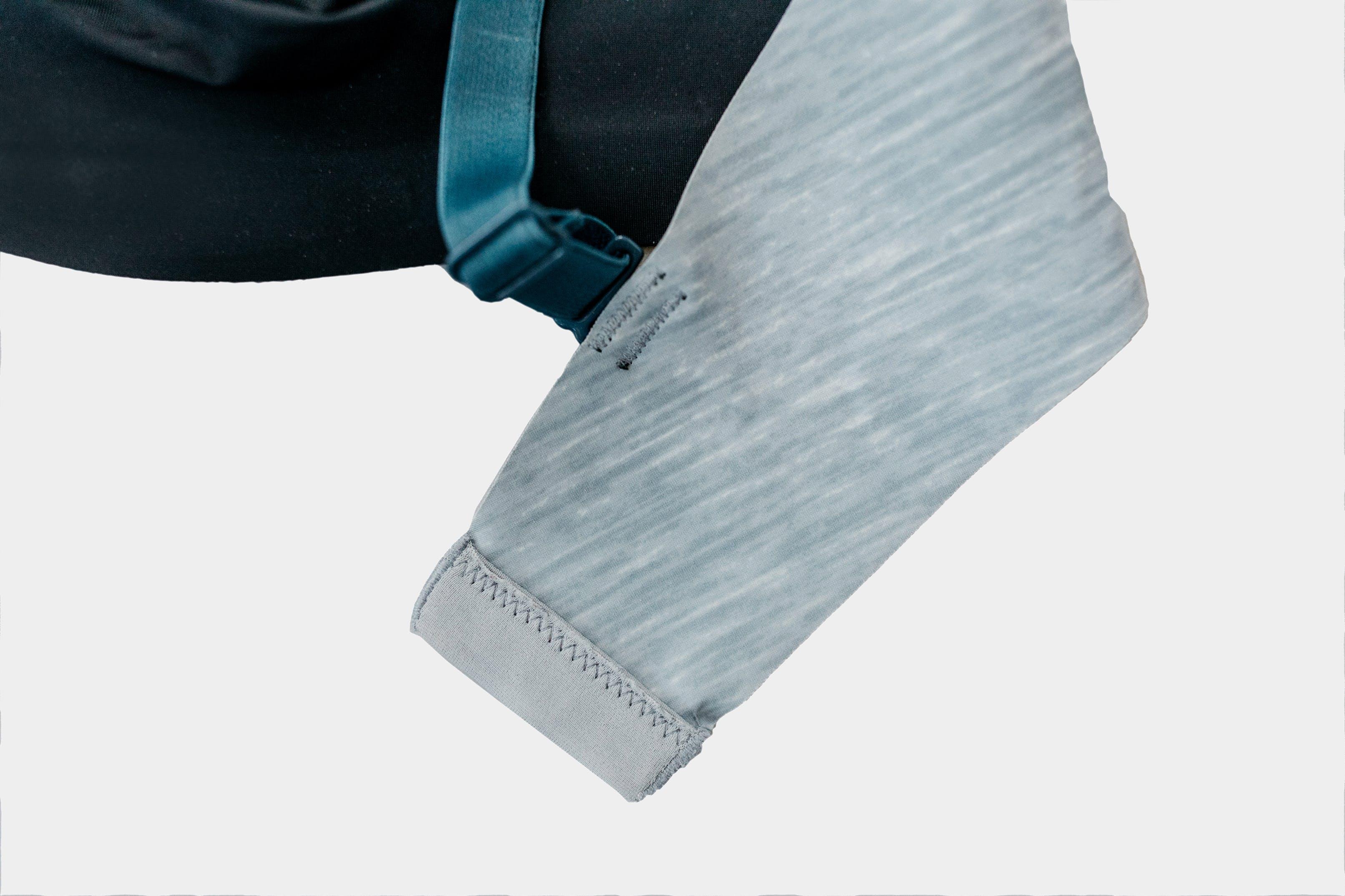 Knix uses nylon and spandex