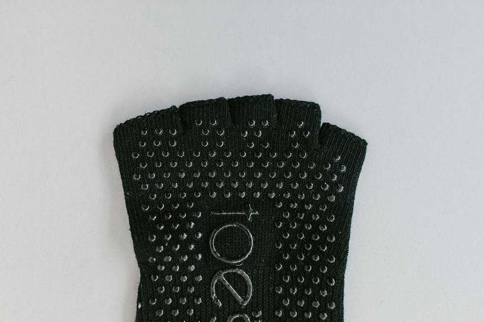 ToeSox has little circles of grip underneath