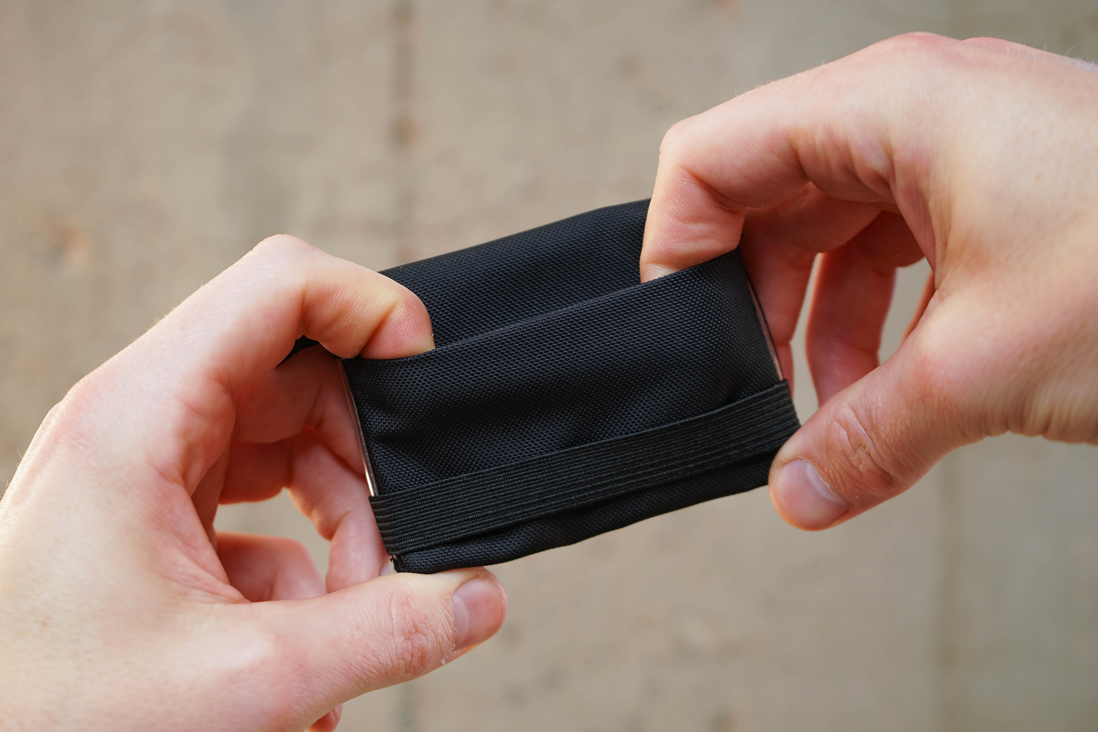 Tom Bihn Nik's Minimalist Wallet Pocket Stretch