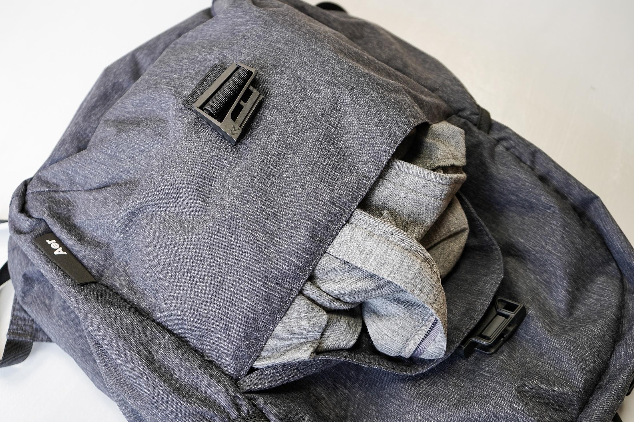 Aer Go Pack Front Pocket