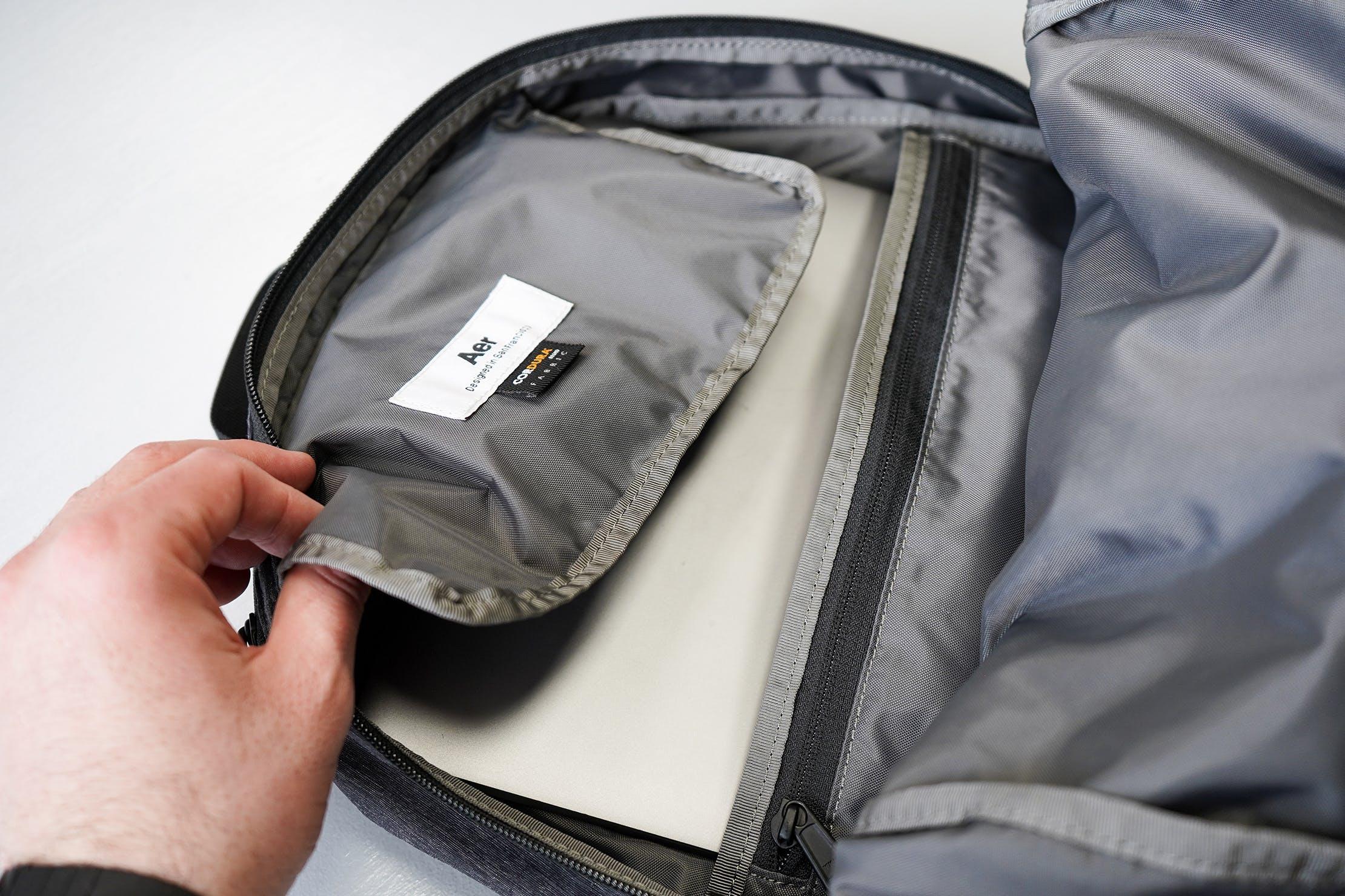 Aer Go Pack Top Pocket Flap