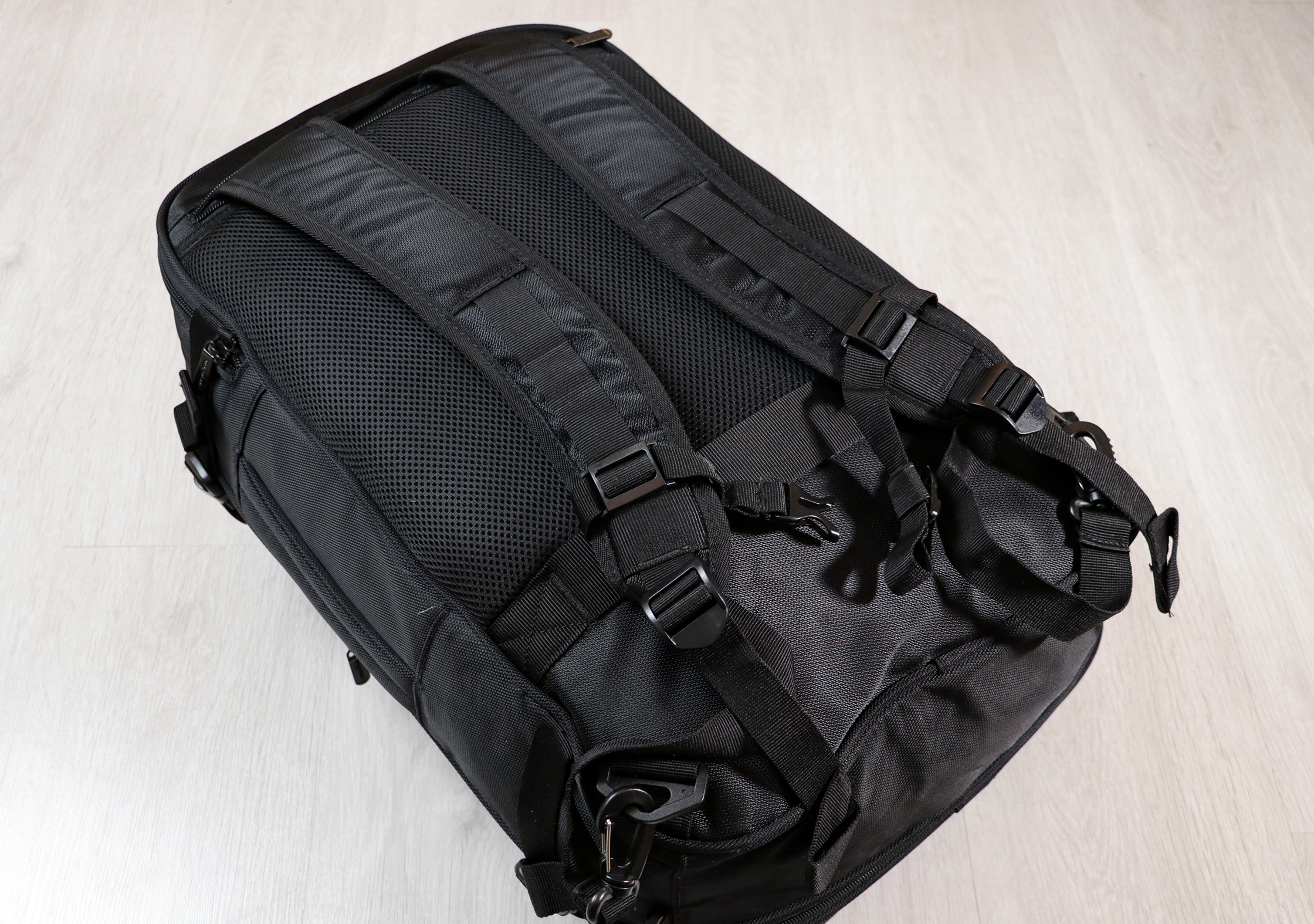 AmazonBasics Carry-On Travel Backpack Harness System