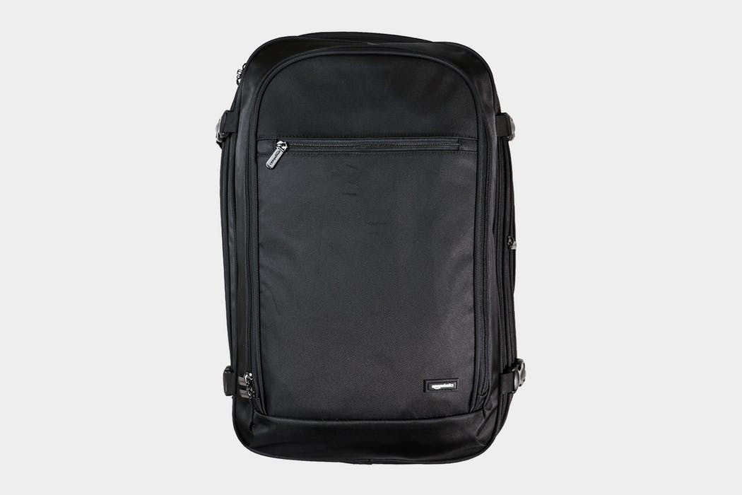 AmazonBasics Carry-On Travel Backpack Review