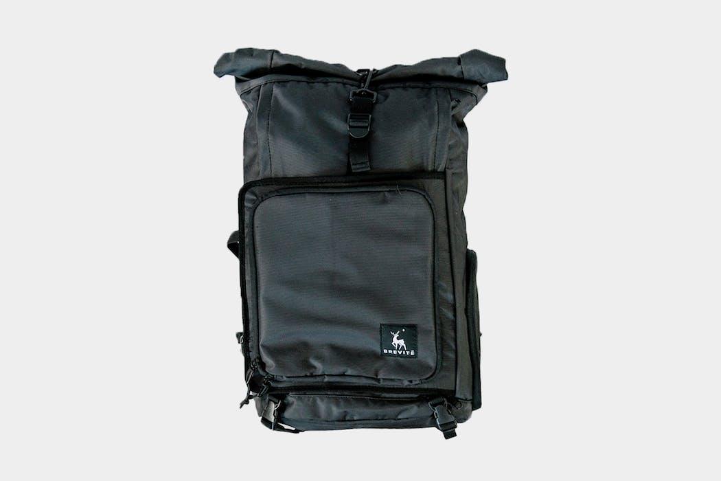 Brevitē Rolltop Camera Backpack