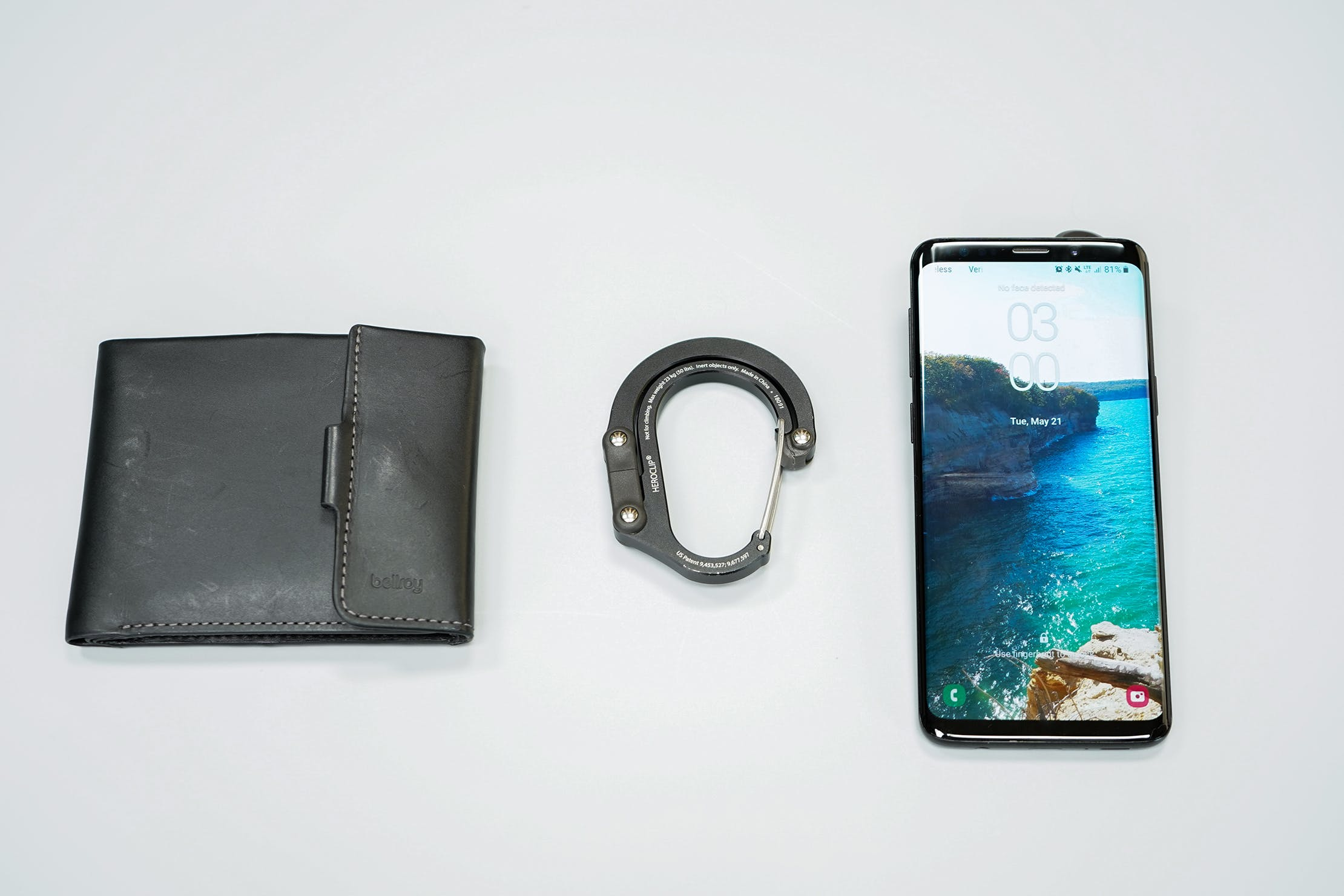 Heroclip With Phone And Wallet