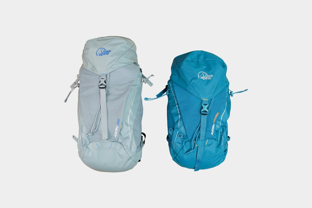 Lowe Alpine Aeon 22 & ND20 Pack Review