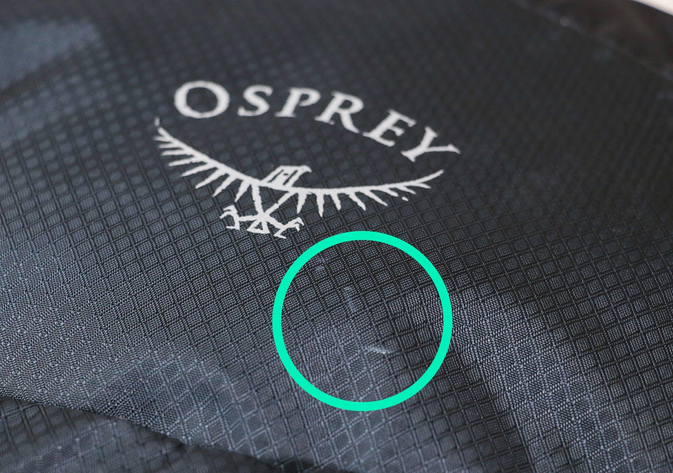 Osprey Daylite Plus Abrasion Marks